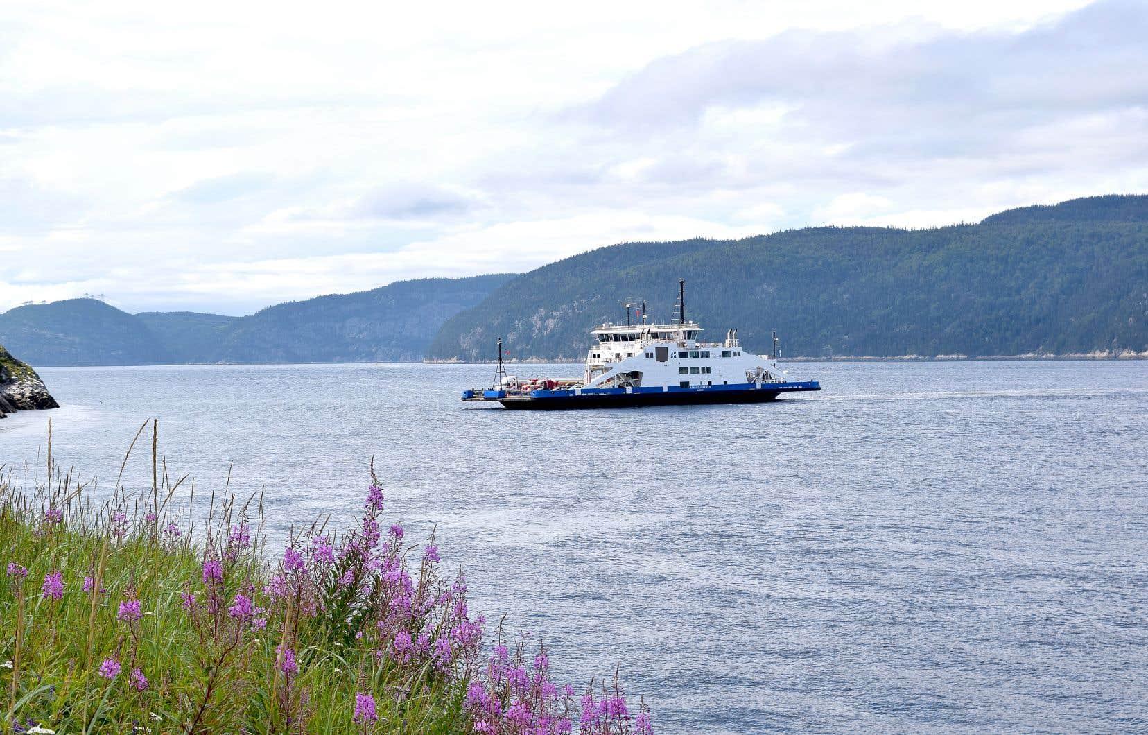 Le gaz naturel qui serait liquéfié par l'usine Énergie Saguenay serait exporté à bord de navires méthaniers qui traverseraient le seul parc marin du Québec, soit celui du Saguenay–Saint-Laurent. Selon les prévisions du promoteur, le projet impliquerait au moins 320 passages chaque année pour des navires de 300 mètres.