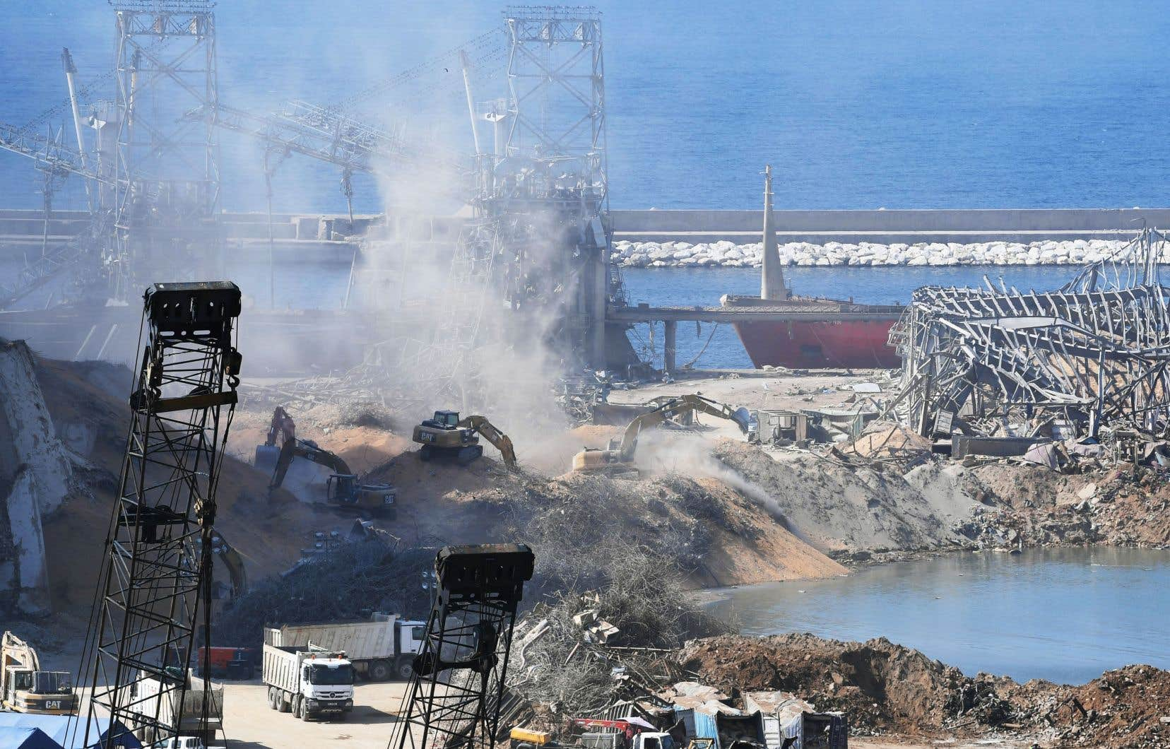 La double explosion qui a ravagé la capitale libanaise Beyrouth le 4août a fait plus de 171 morts.