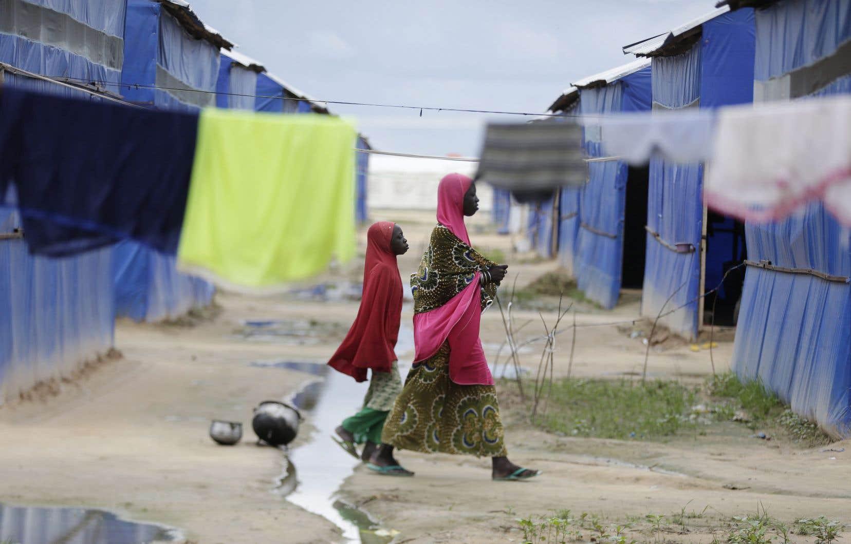 On estime qu'après plus de dix ans de conflit, deux millions de nigériens ne peuvent toujours pas regagner leur foyer et vivent dans des camps de déplacés.