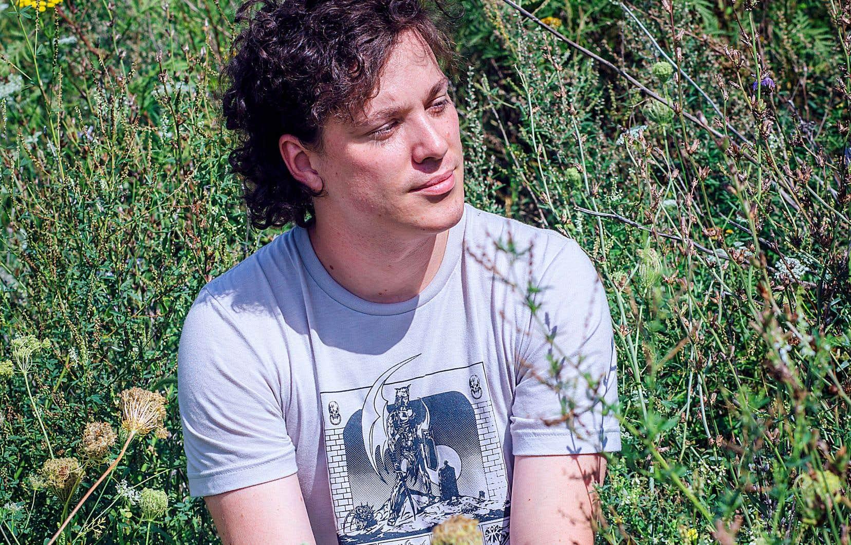 Jonathan Personne au Champ des Possibles, à Montréal. Il lance vendredi prochain son second album solo.