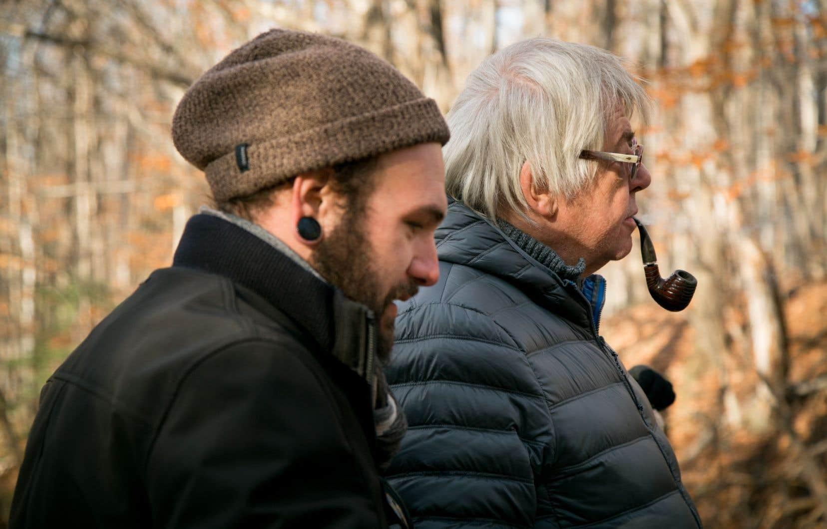Scène tirée du documentaire «Des histoires inventées»