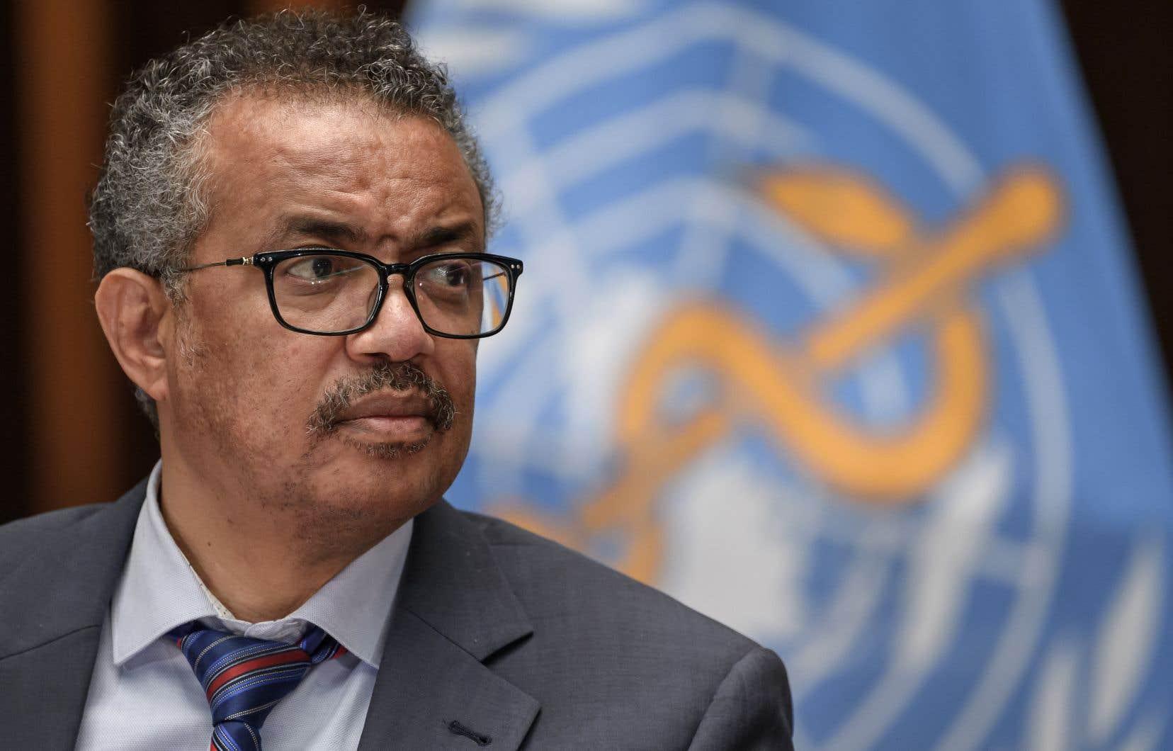 Le chef de l'Organisation mondiale de la santé, Tedros Adhanom Ghebreyesus