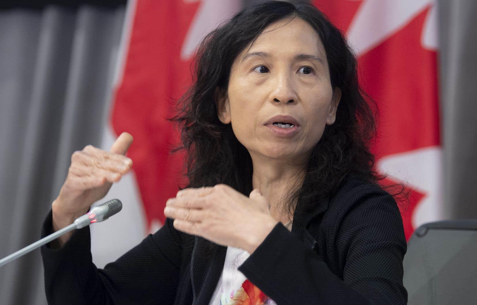 Pour la docteure Theresa Tam, toutes les options devraient être envisagées pour remédier au problème des opioïdes.