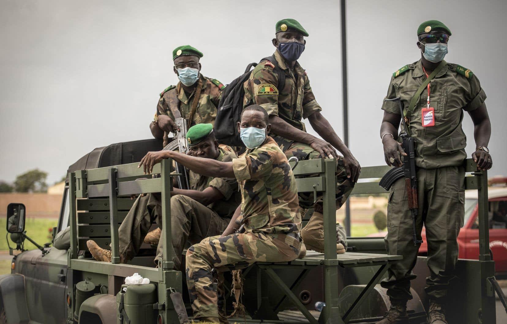 Les militaires ont pris le pouvoir au Mali à la suite d'un coup d'État mardi dernier.