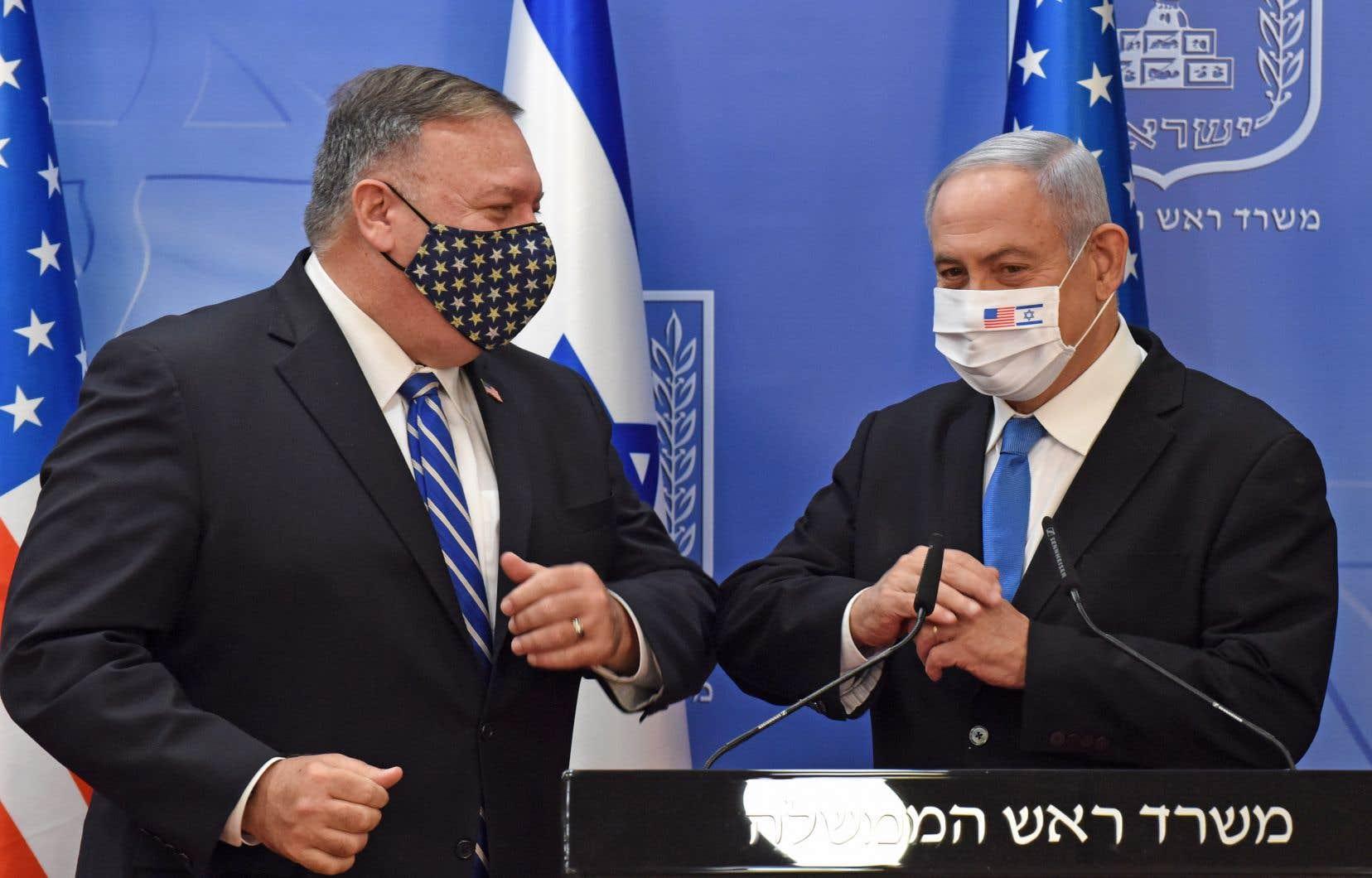 Mike Pompeo s'est entretenu à Jérusalem avec le premier ministre israélien, Benjamin Nétanyahou.