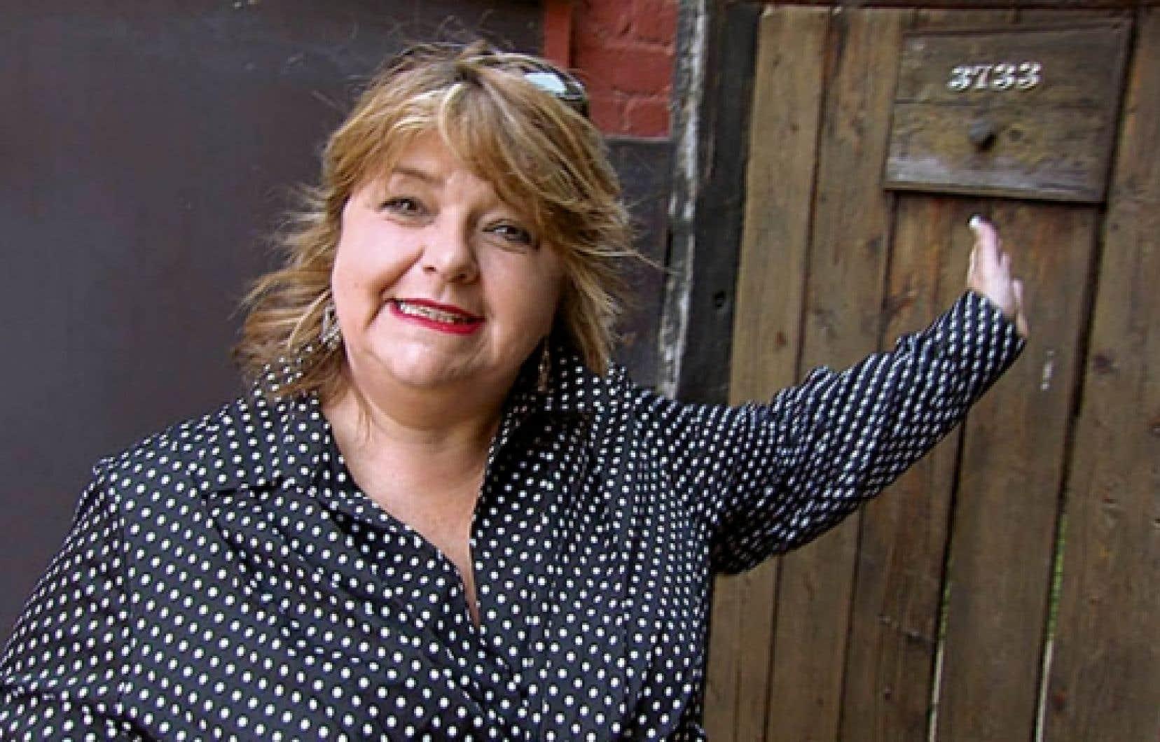 Lise Dion, l&rsquo;humoriste devenue &eacute;crivaine.<br />