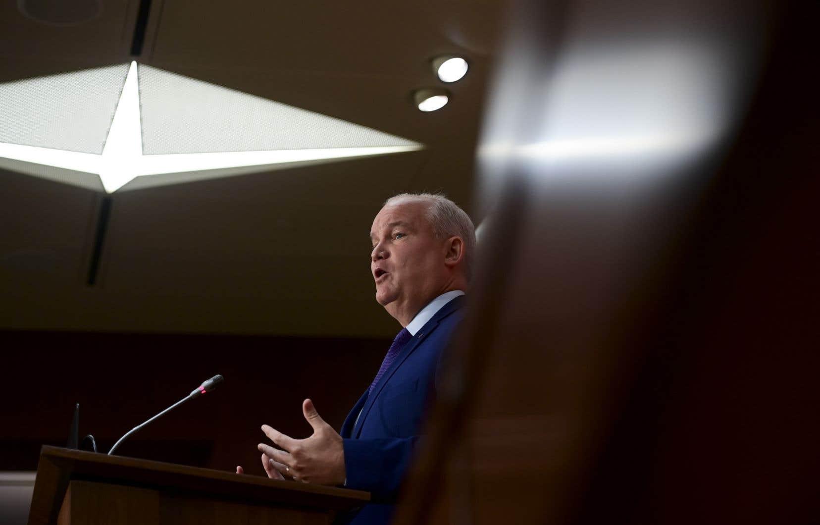 Le chef fraîchement élu du Parti conservateur du Canada, Erin O'Toole