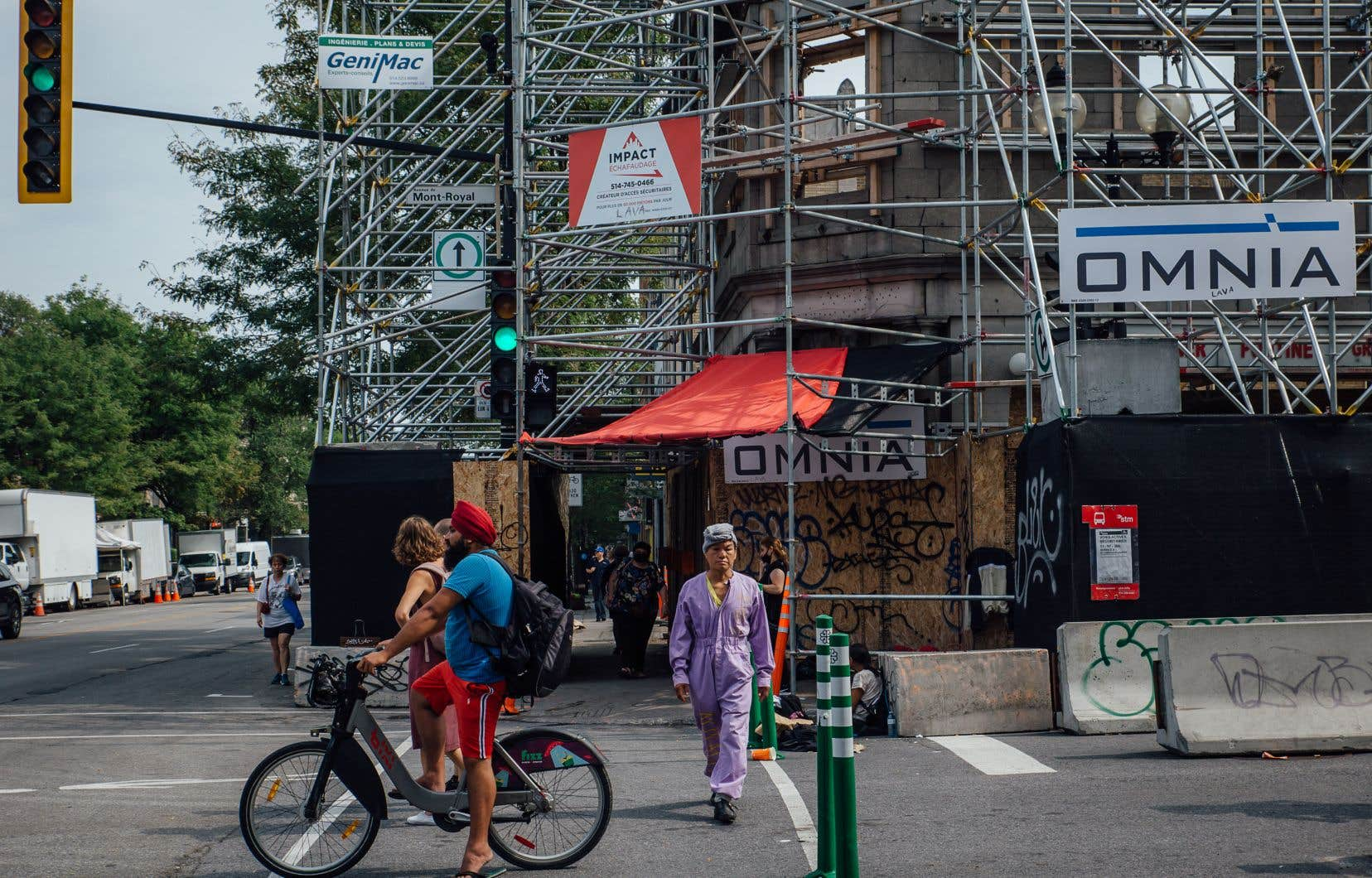 Rien ne démontrait que le bâtiment du Rapido,démoli sans permis au printemps dernier, présentait des enjeux de sécurité, soutient l'arrondissement Plateat-Mont-Royal.