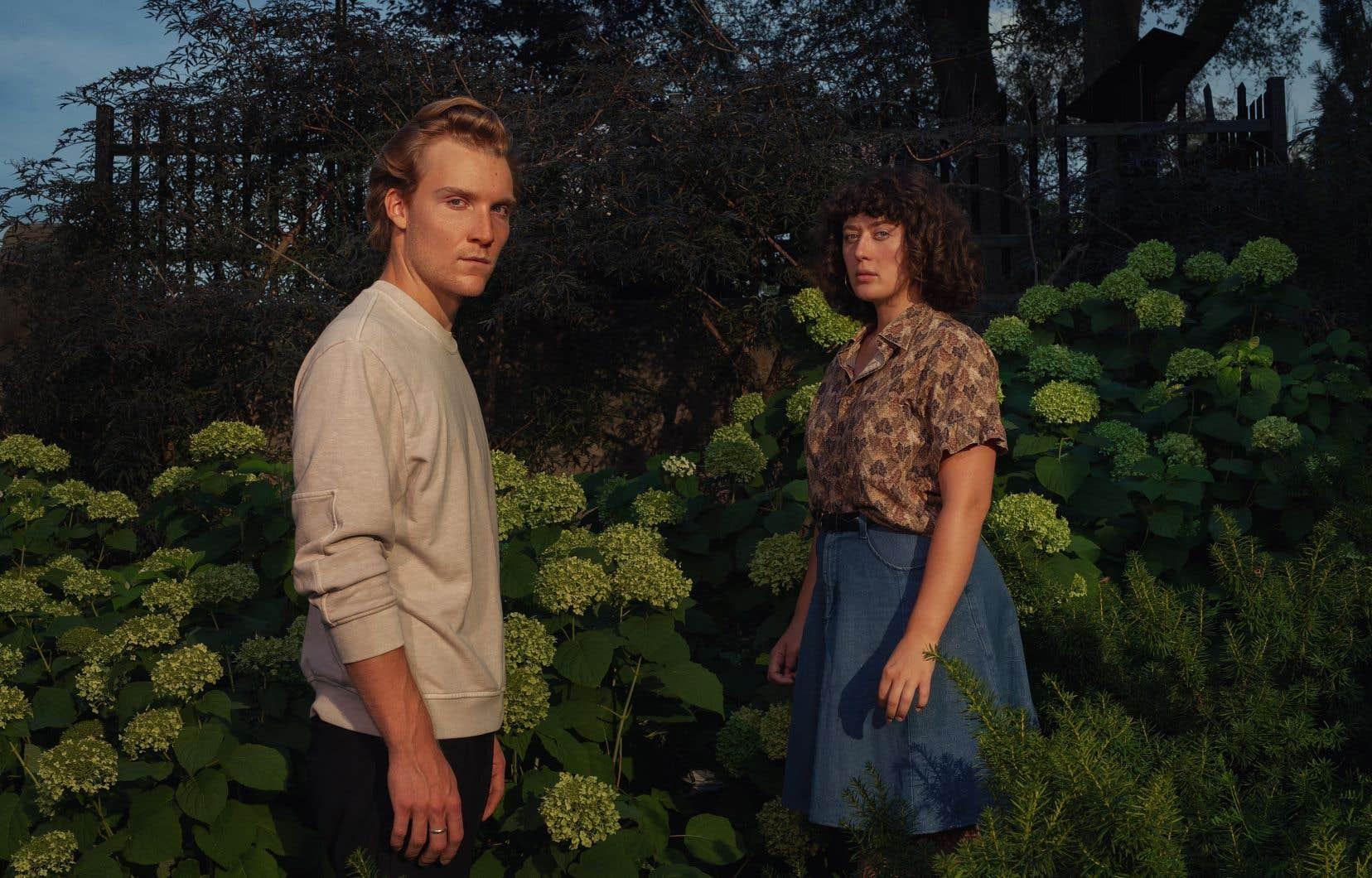 La pièce «Amours propres», mettant en vedette Mattis Savard-Verhoeven et Rose-Anne Déry, n'a pas dû subir d'ajustements majeurs en raison de la pandémie, tournant autour de la question des «passions à distance».