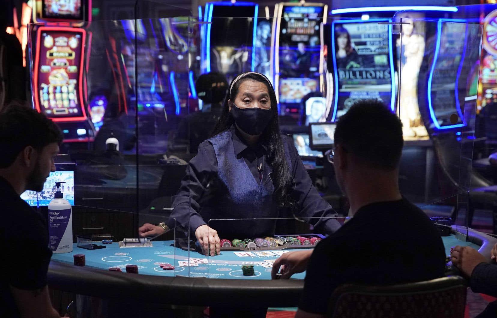 Les casinos ont rouvert début juin, mais la reprise est lente.