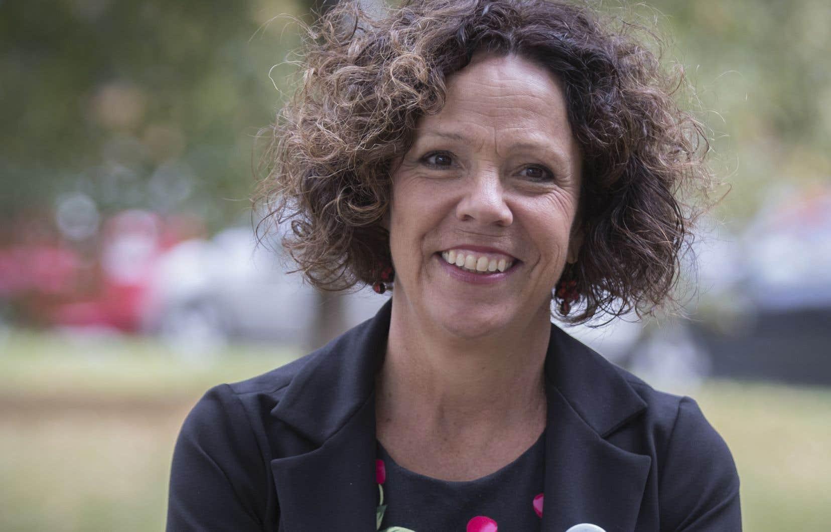 Sue Montgomery, mairesse de l'arrondissment Côte-des-Neiges-Notre-Dame-de-Grâce