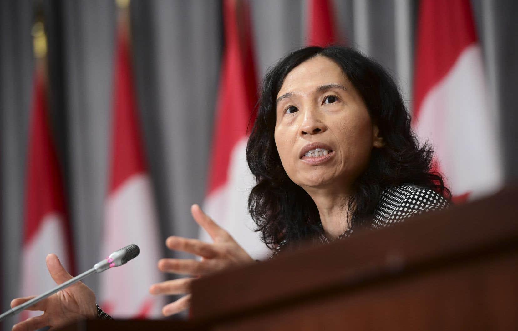 DreTheresa Tam, administratrice en chef de la santé publique du Canada