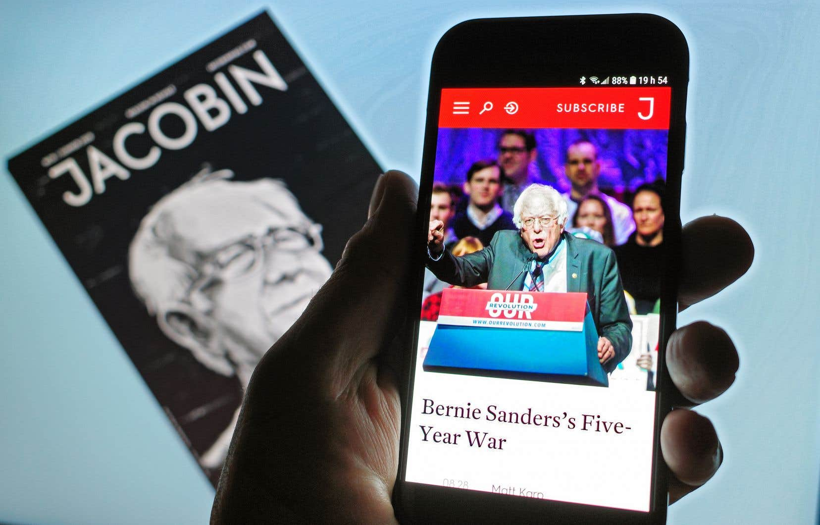 «Jacobin» est une publication socialiste basée à New York qui célèbre son 10eanniversaire en septembre.