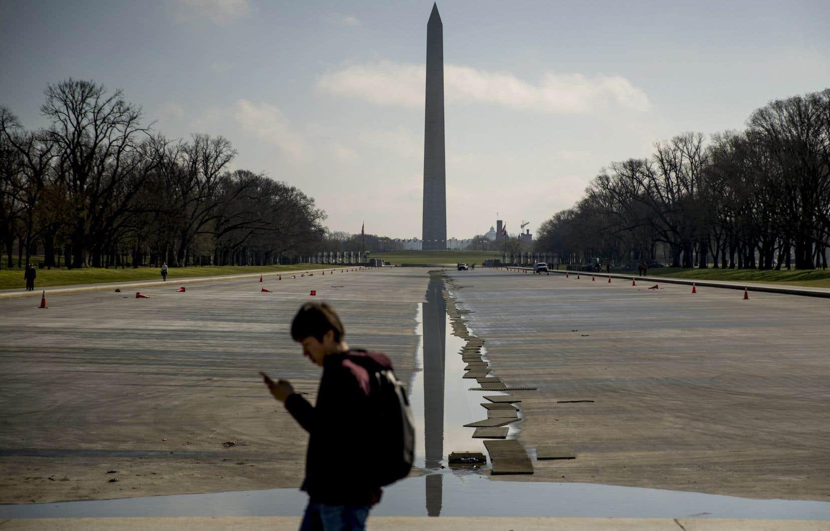L'obélisque  en l'honneur  de George  Washington fait partie des monuments visés par la commission municipale.