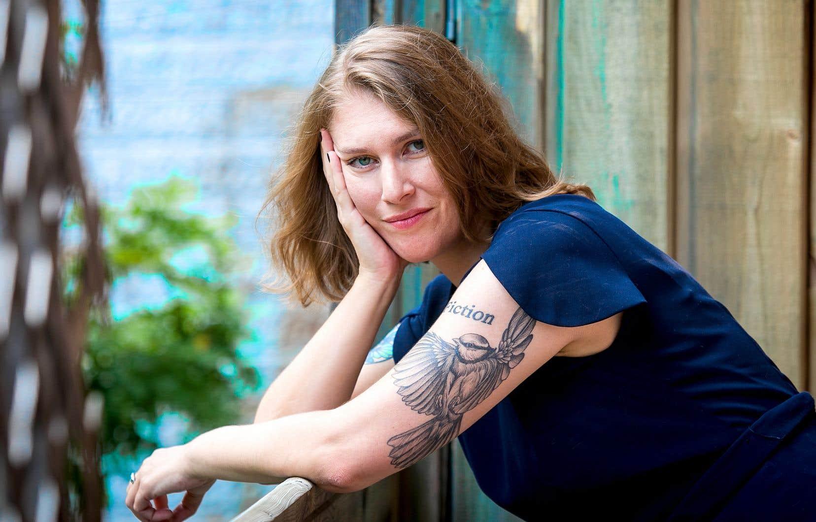 «Bermudes» semble être l'un de ses romans les moins ironiques, confie l'écrivaine Claire Legendre.