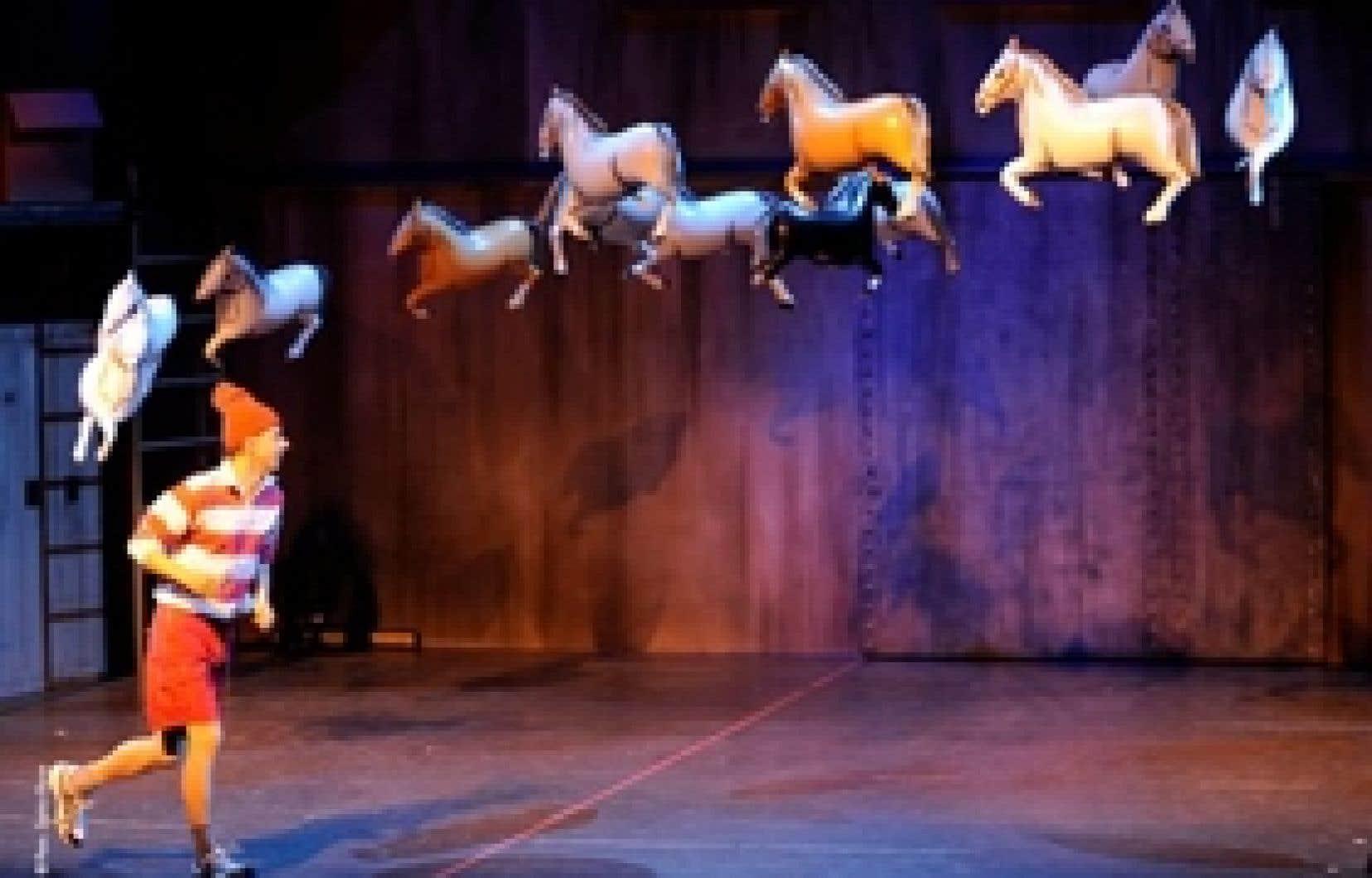 Le dresseur de chevaux volants du cabaret Maboul est digne de mention.