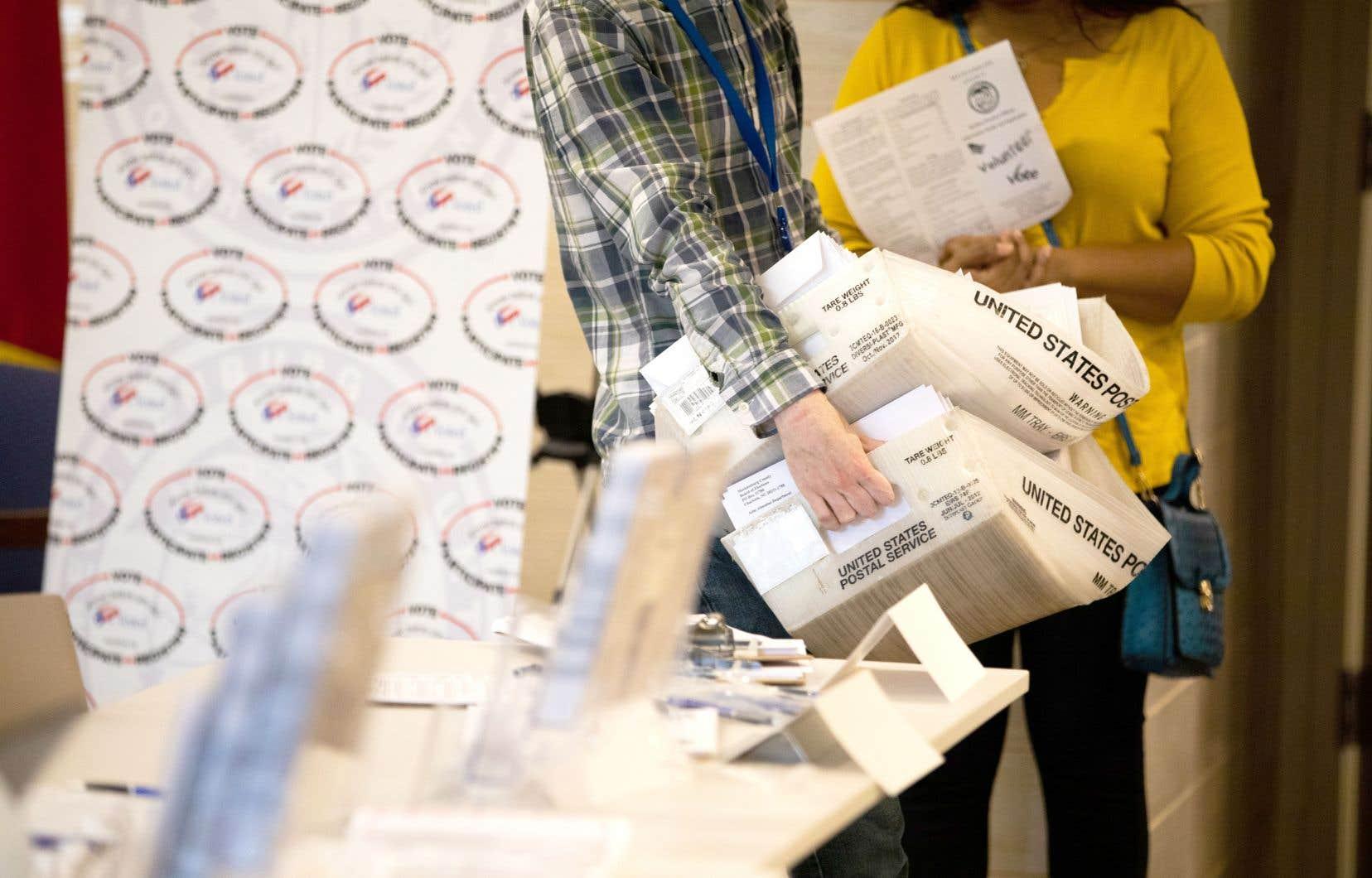 La Caroline du Nord a entamé l'envoi de plus de 600 000 bulletins de vote, répondant à une hausse spectaculaire des demandes.