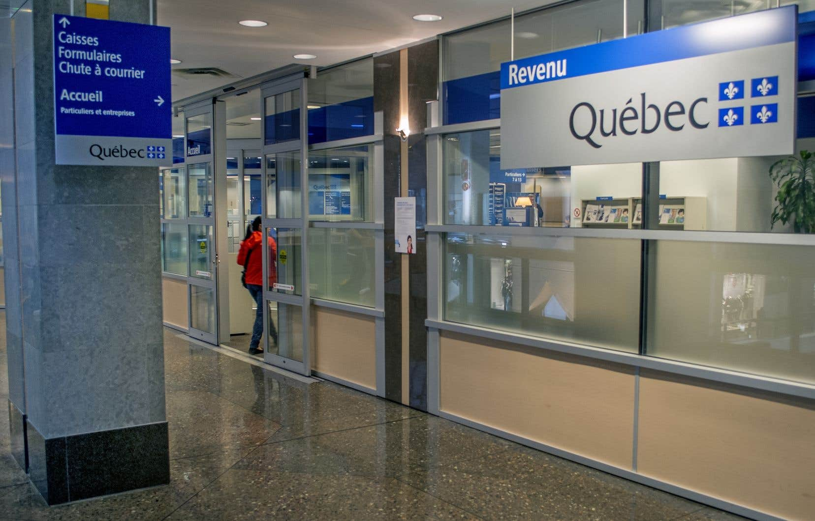 Revenu Québec mène une enquête et elle est en communication avec la Sûreté du Québec.