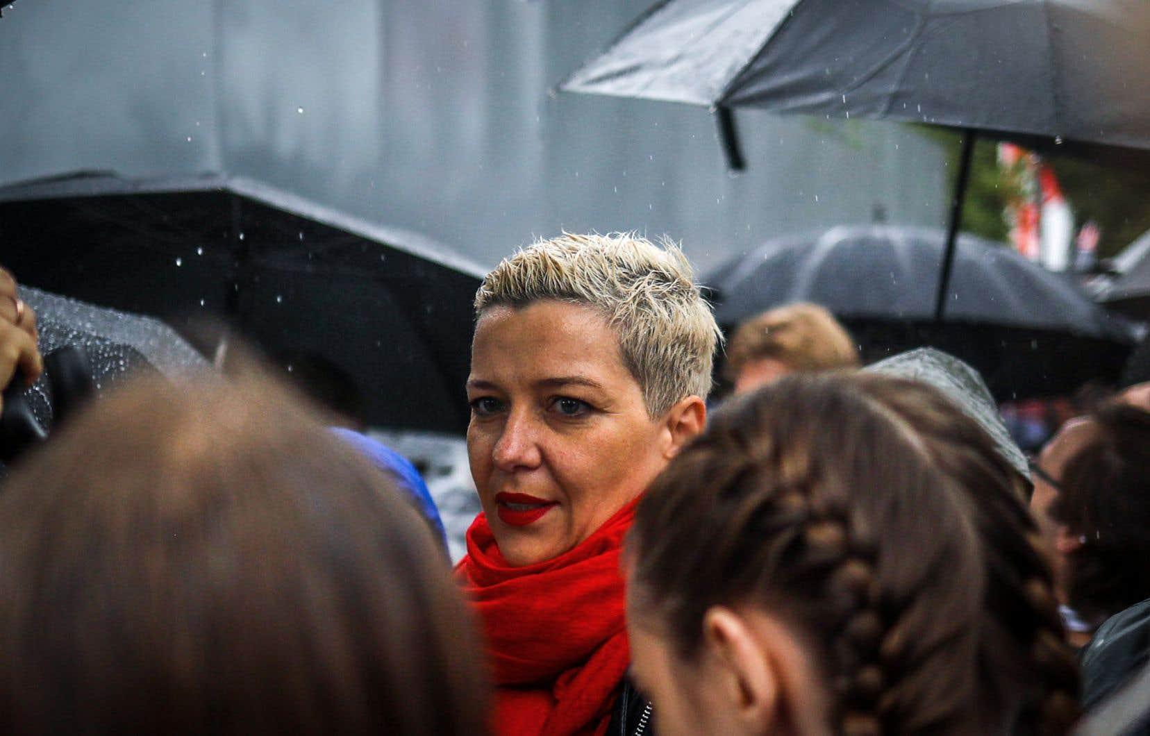 Maria Kolesnikova, la seule figure importante de l'opposition ayant choisi de ne pas s'exiler à l'étranger, aurait été «enlevée» lundi matin.