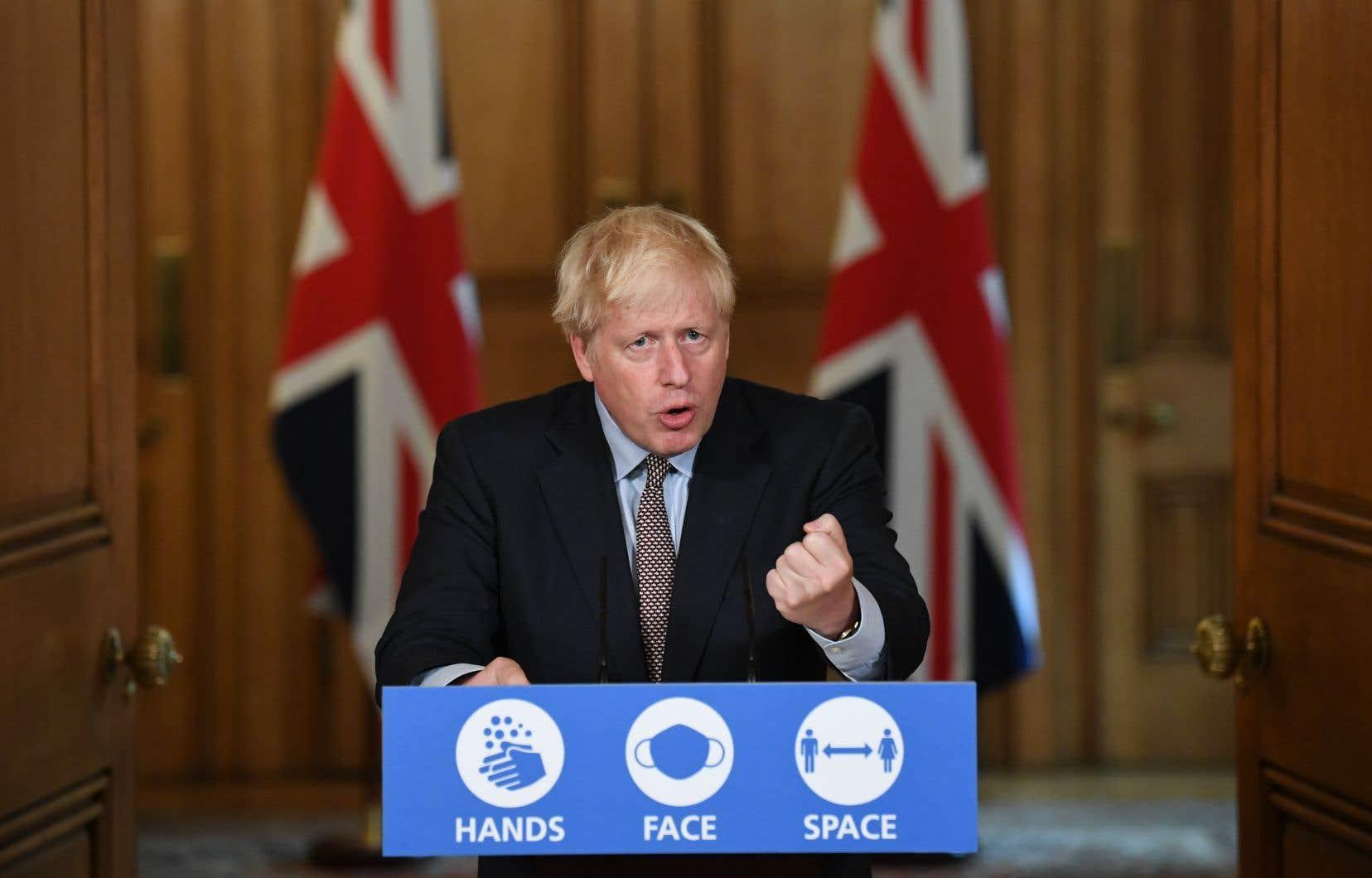«J'aurais aimé ne pas avoir à prendre ces mesures», a souligné Boris Johnson.