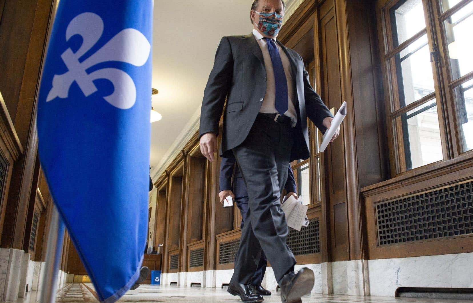 La premier ministre du Québec, François Legault