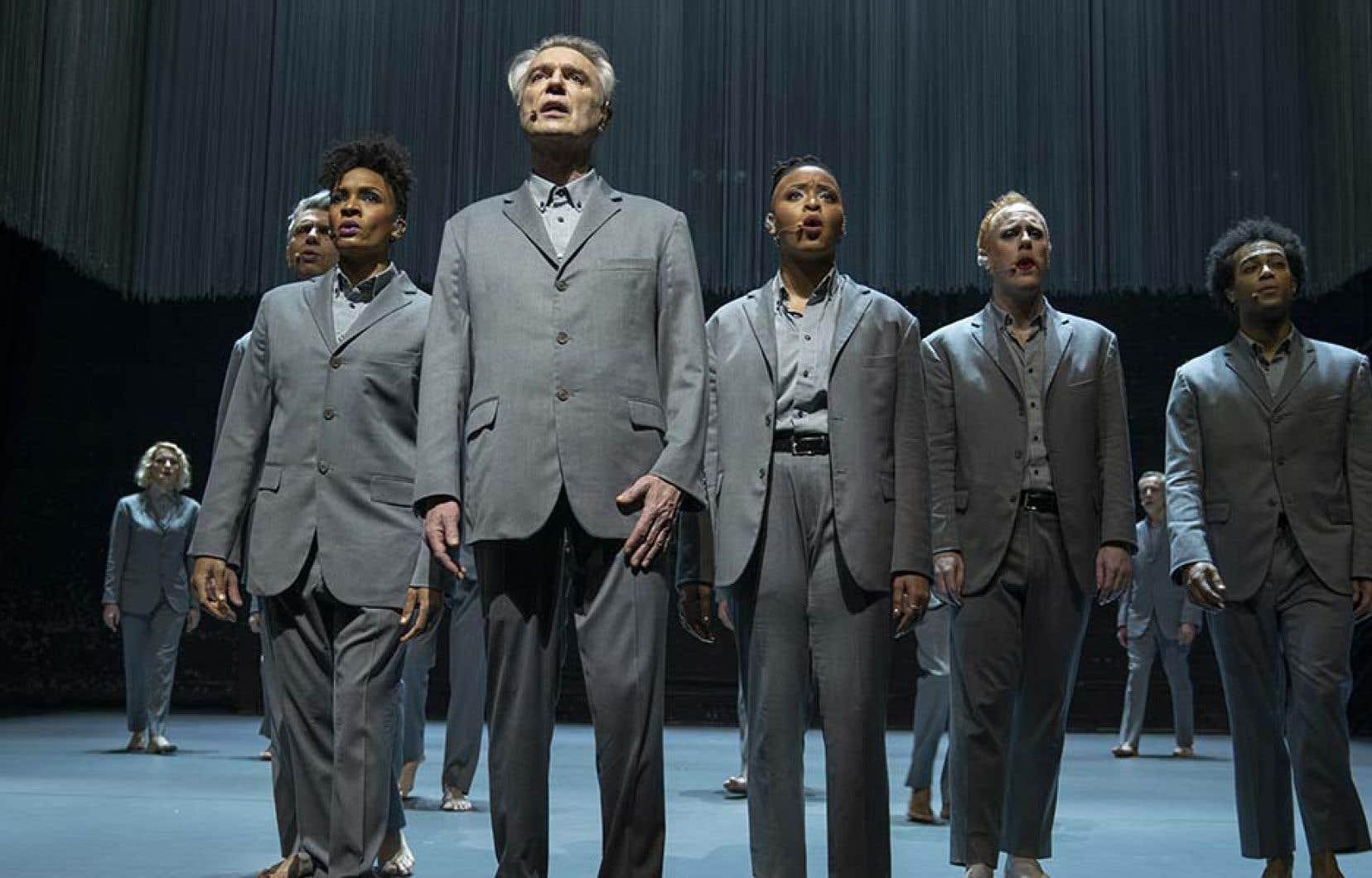 Le spectacle «American Utopia» de David Byrne, capté par Spike Lee, semble offrir une vision soudain bien optimiste du monde.