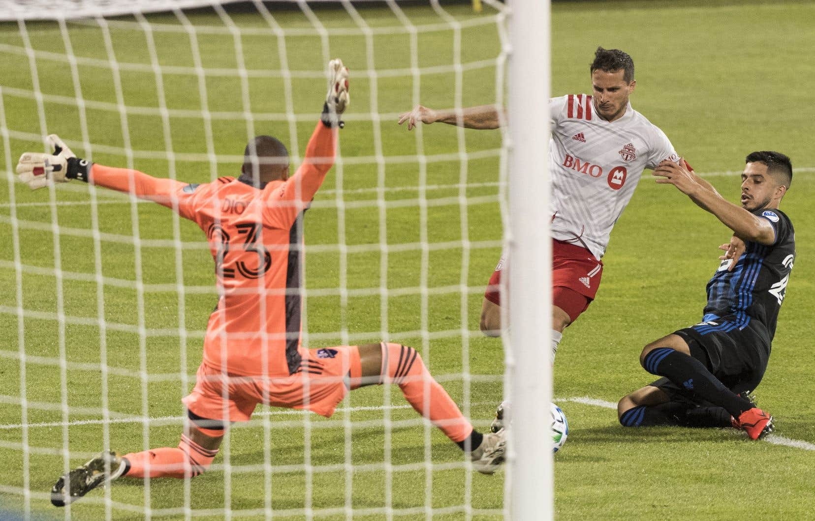 Les Montréalais Diop et Maciel ont affronté trois fois de suite le TFC récemment.