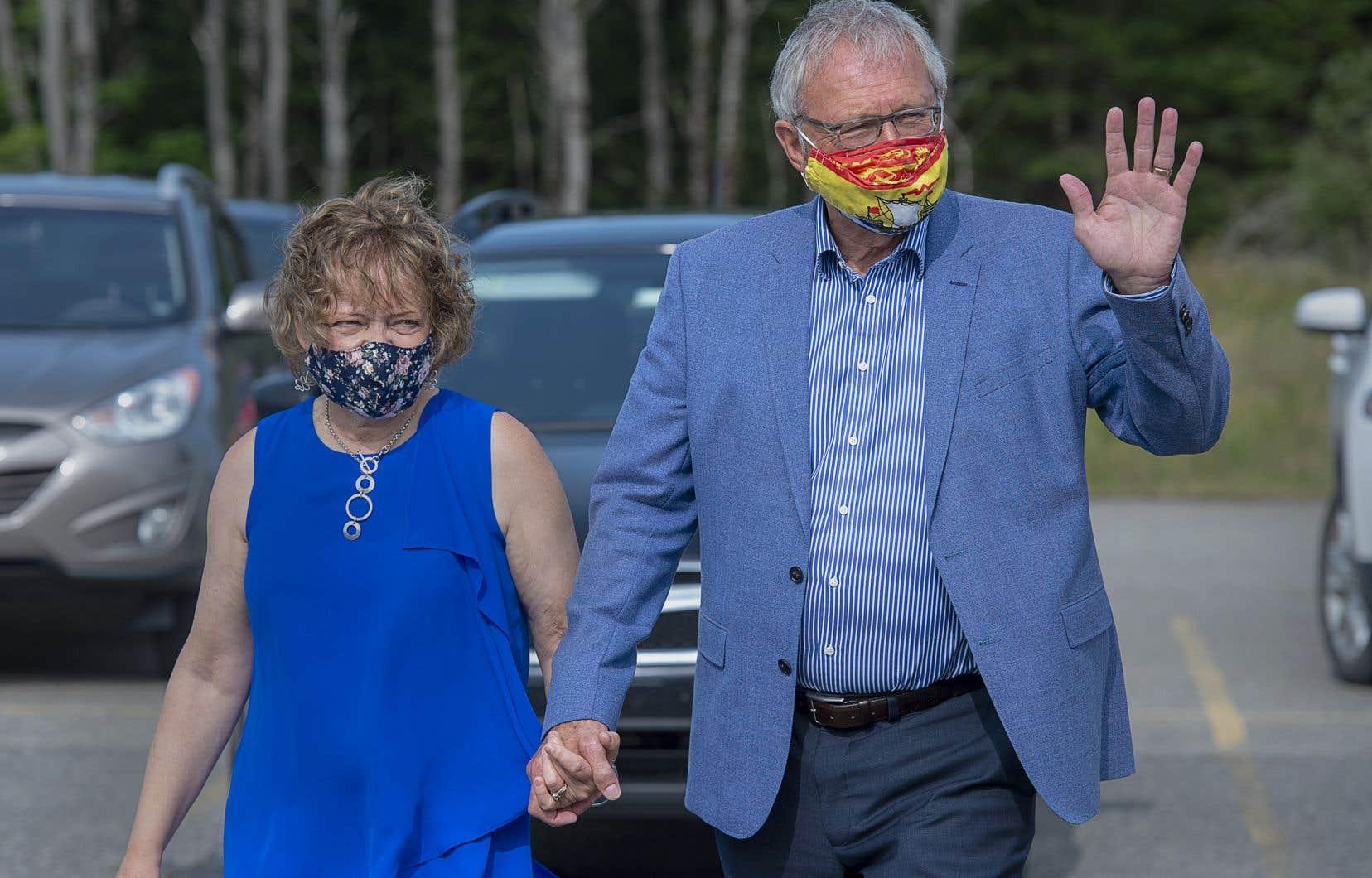 Le chef du Parti progressiste-conservateur du Nouveau-Brunswick, Blaine Higgs