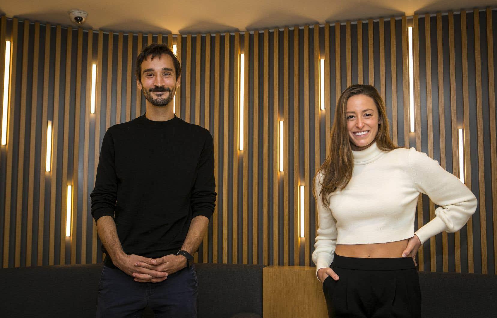Le cinéaste Pascal Plante et l'actrice-nageuse Katerine Savard présentent l'histoire d'une athlète qui décide de faire une croix sur sa carrière.