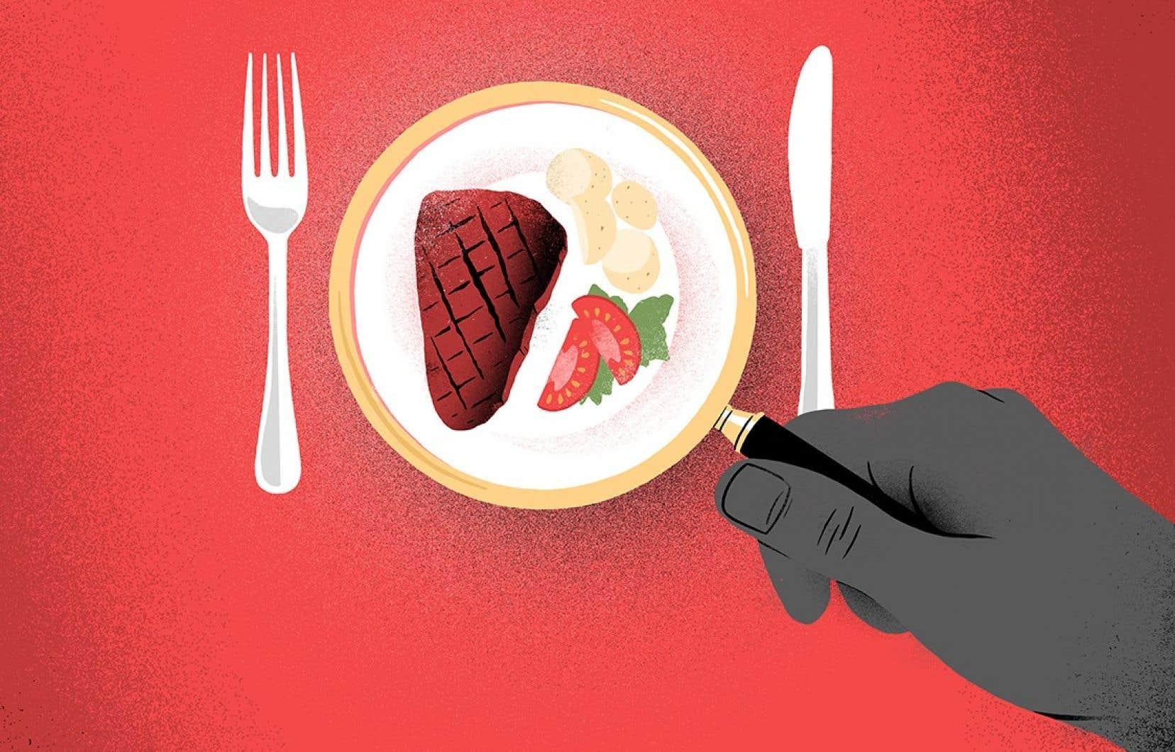 Selon une étude, les aliments représentent le quart de nos émissions individuelles de GES chaque année.