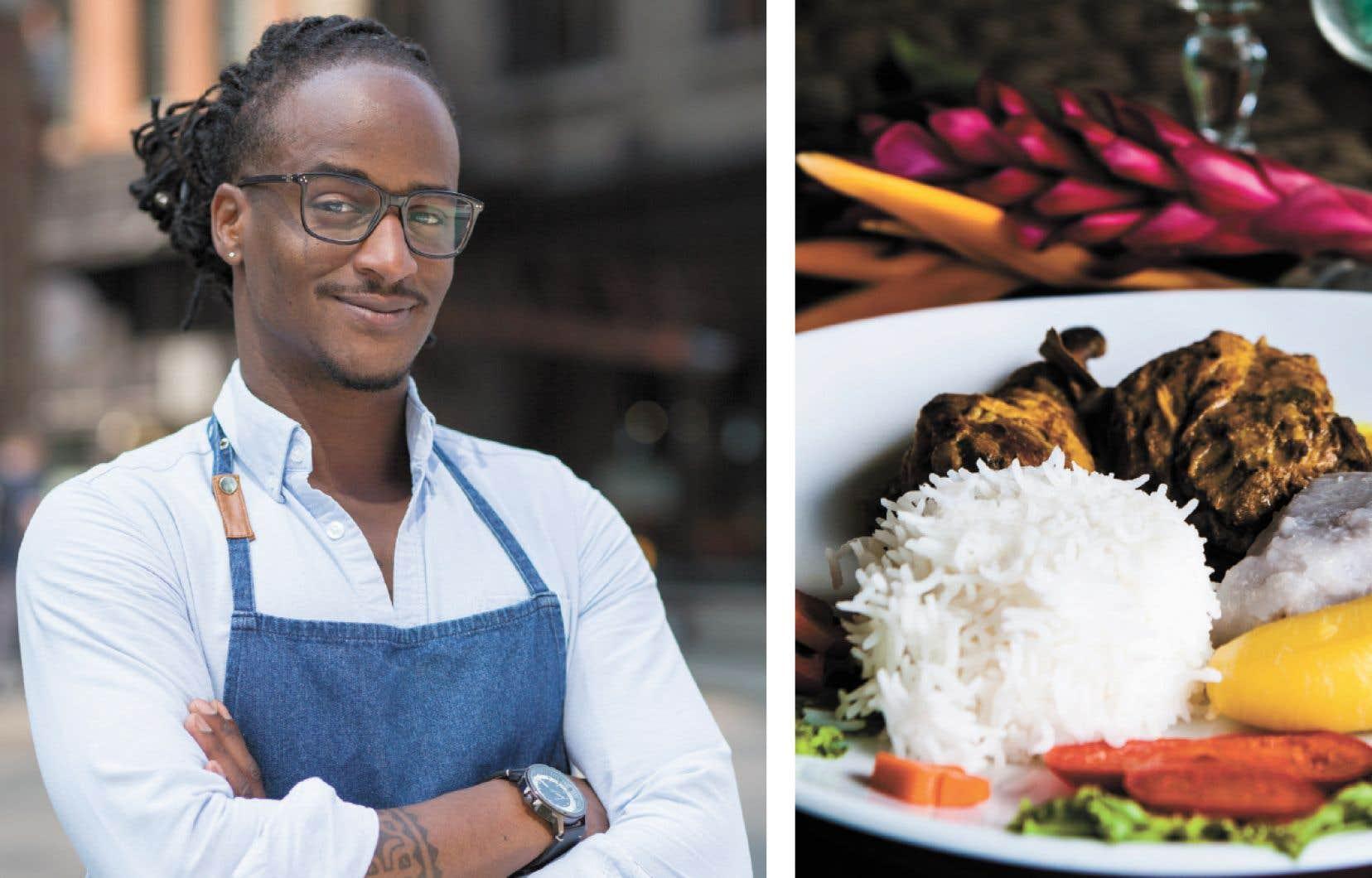 Selon le chef Jérémie Jean-Baptiste, le colombo au poulet représente bien le mélange des cultures de la Martinique.