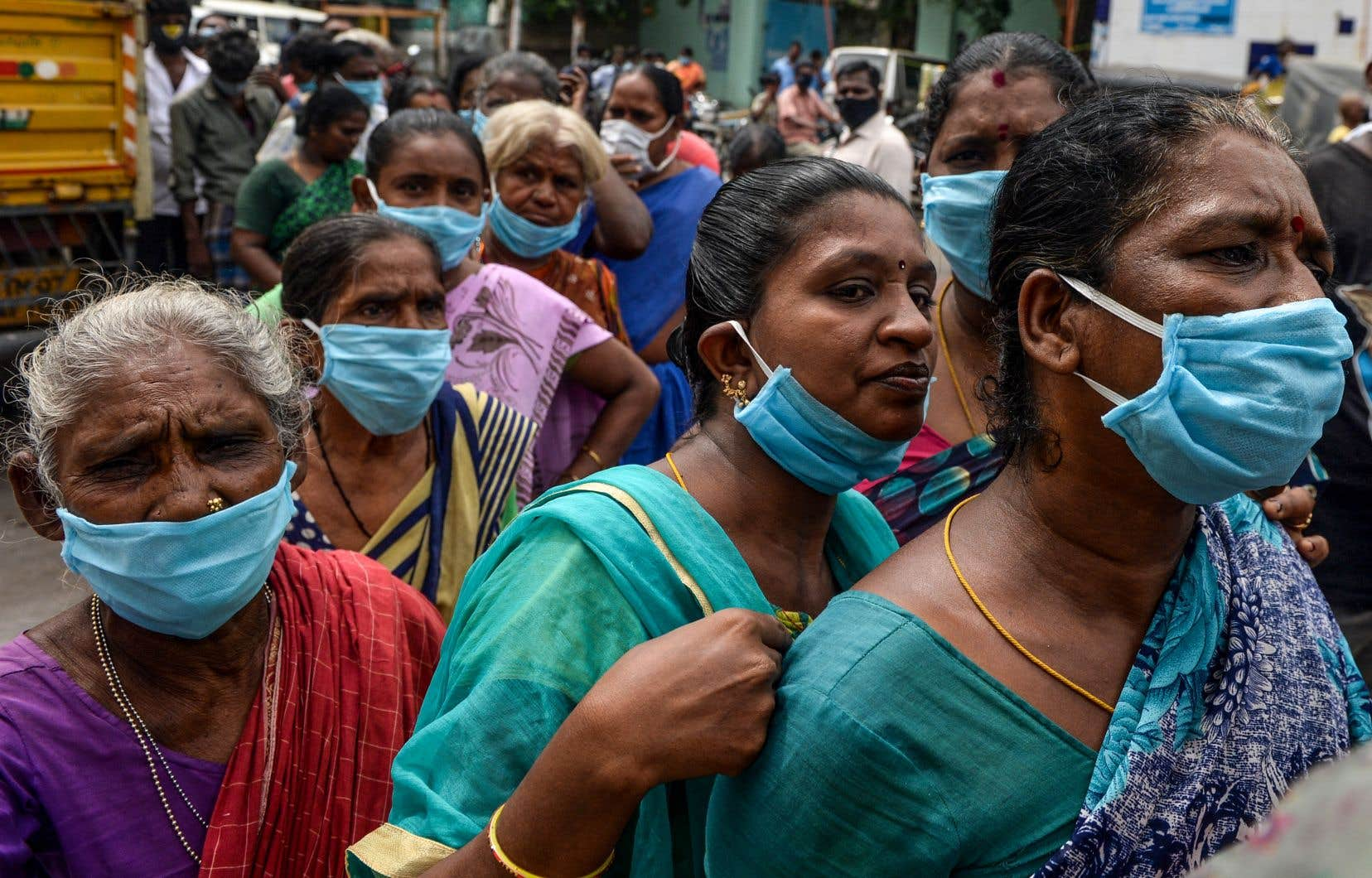 Un envoyé spécial de l'OMS a averti que la pandémie n'en était encore qu'à son tout début en Inde.
