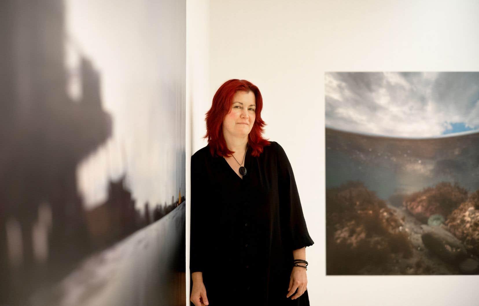 Isabelle Hayeur, qui puise ses sujets dans son vécu, a grandi sur le bord de la rivière des Mille-Îles, «un égout à ciel ouvert» à ses yeux. «Tu ne vois pas tes pieds à trois pieds de profondeur.»