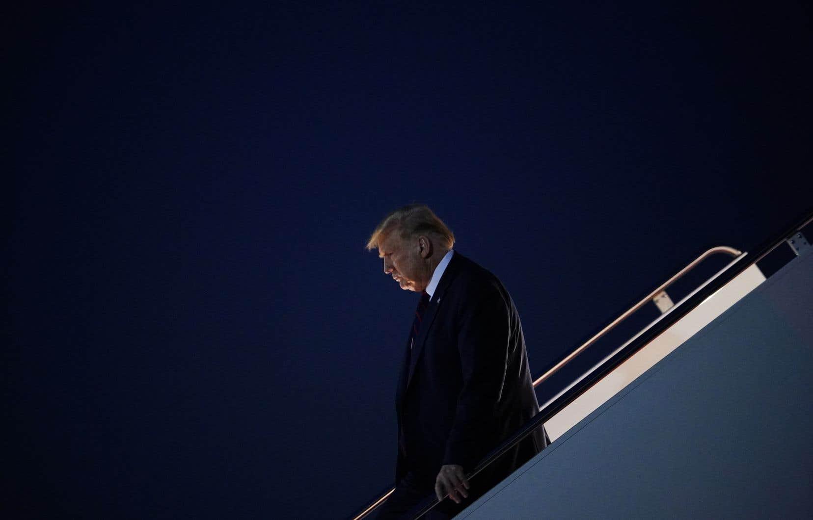 Par la voix de ses avocats, le président américain a réfuté en bloc cette nouvelle allégation.