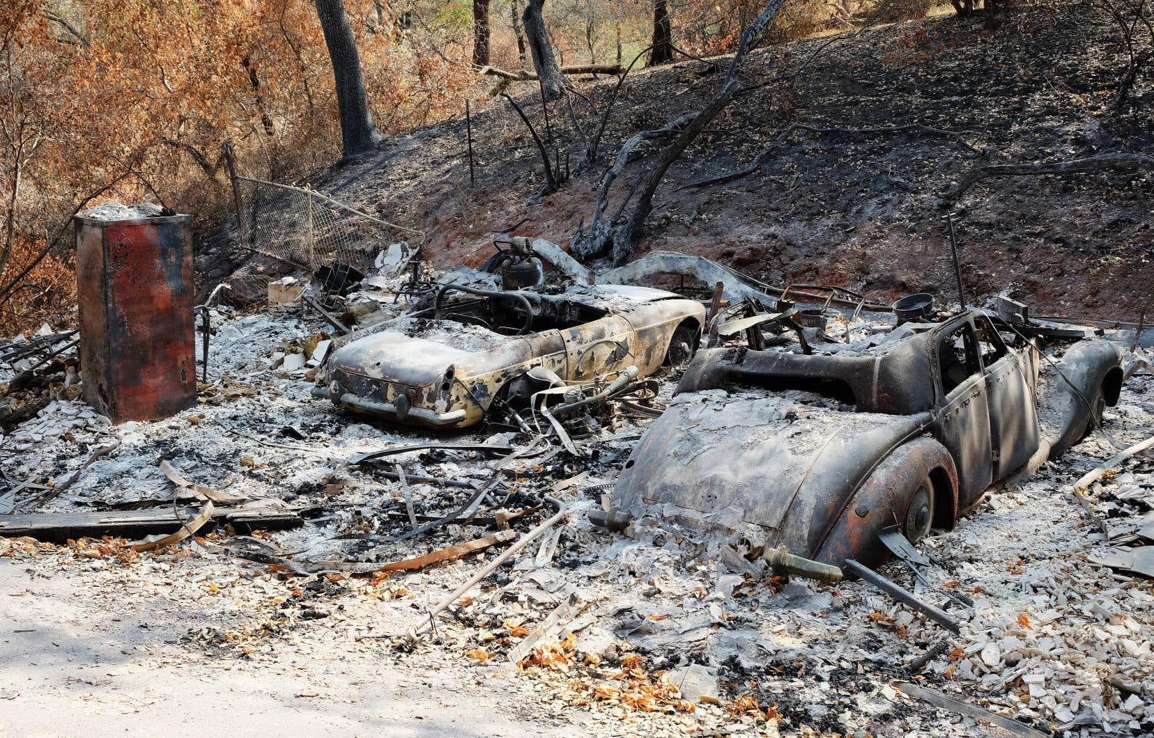 C'est dans les régions vinicoles de Sonoma et de Napa, mais aussi du comté de Solano (sur la photo), qu'a sévi le quatrième incendie en importance de l'histoire de la Californie et qu'on a essuyé les plus lourdes pertes humaines et matérielles.