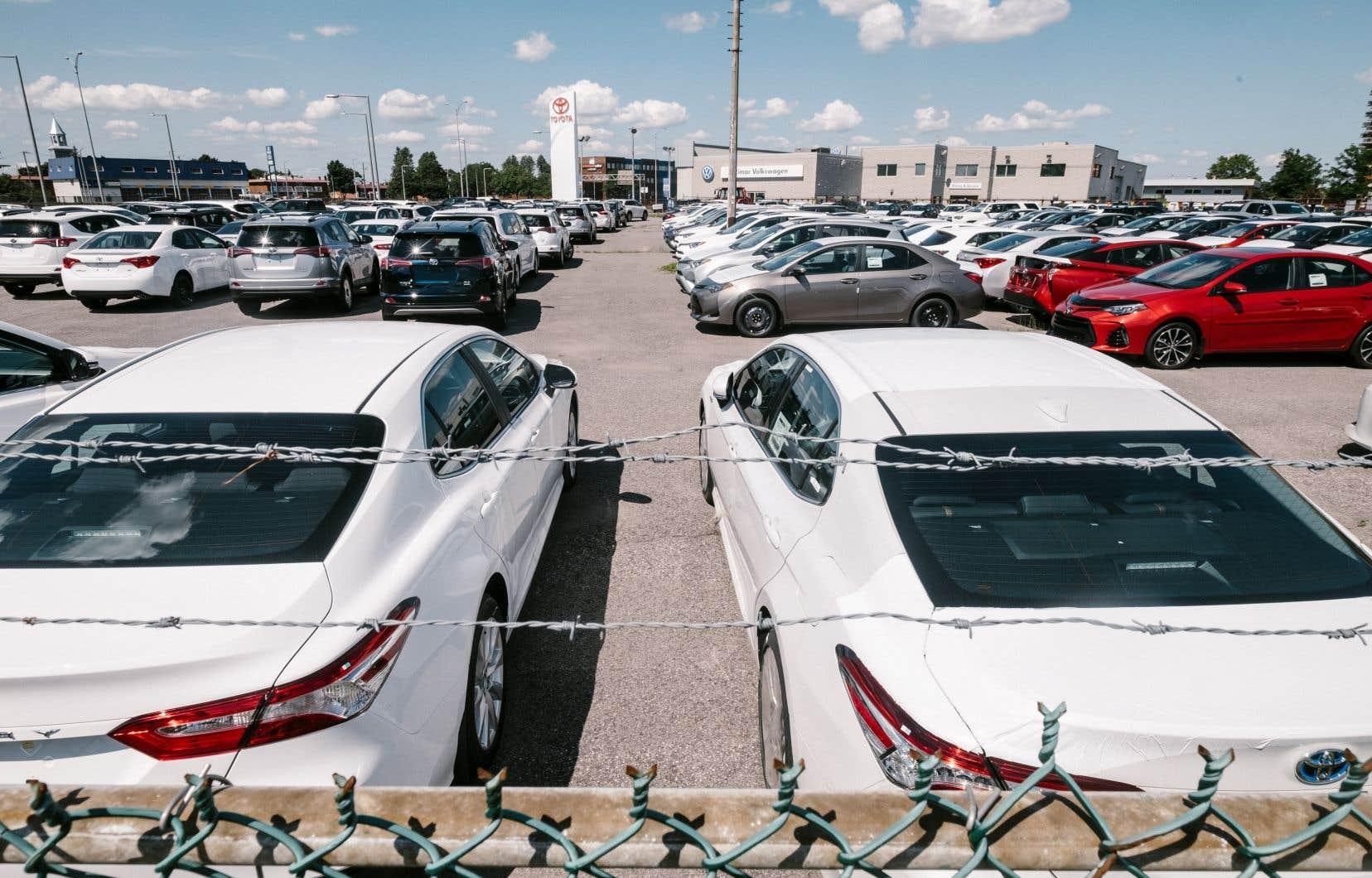 La progression de juillet était surtout alimentée par les ventes des concessionnaires de véhicules automobiles et de leurs pièces, ainsi que celles des stations-service.