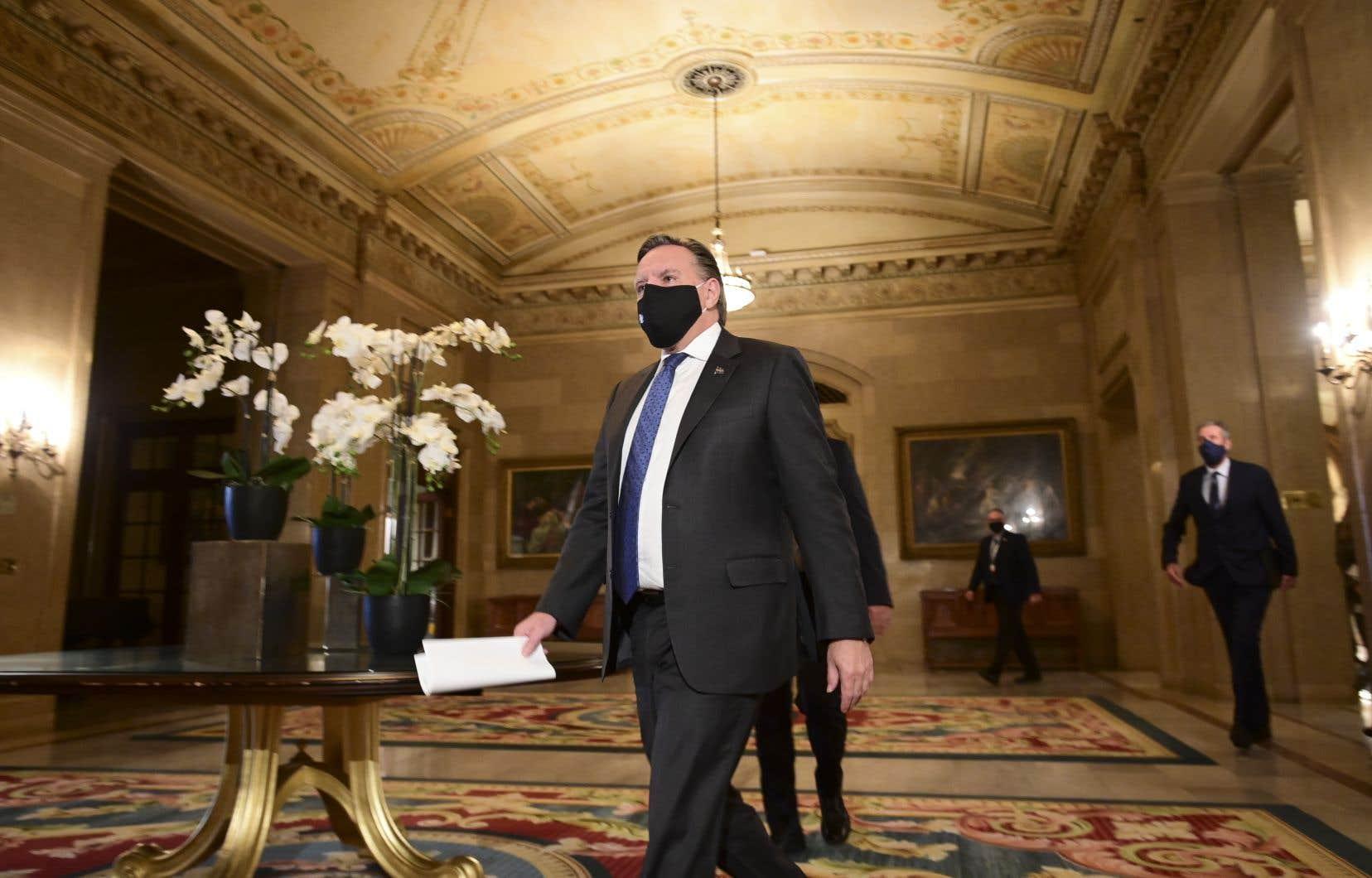 Le premier ministre François Legault était à Ottawa vendredi pour rencontrer ses homologues.