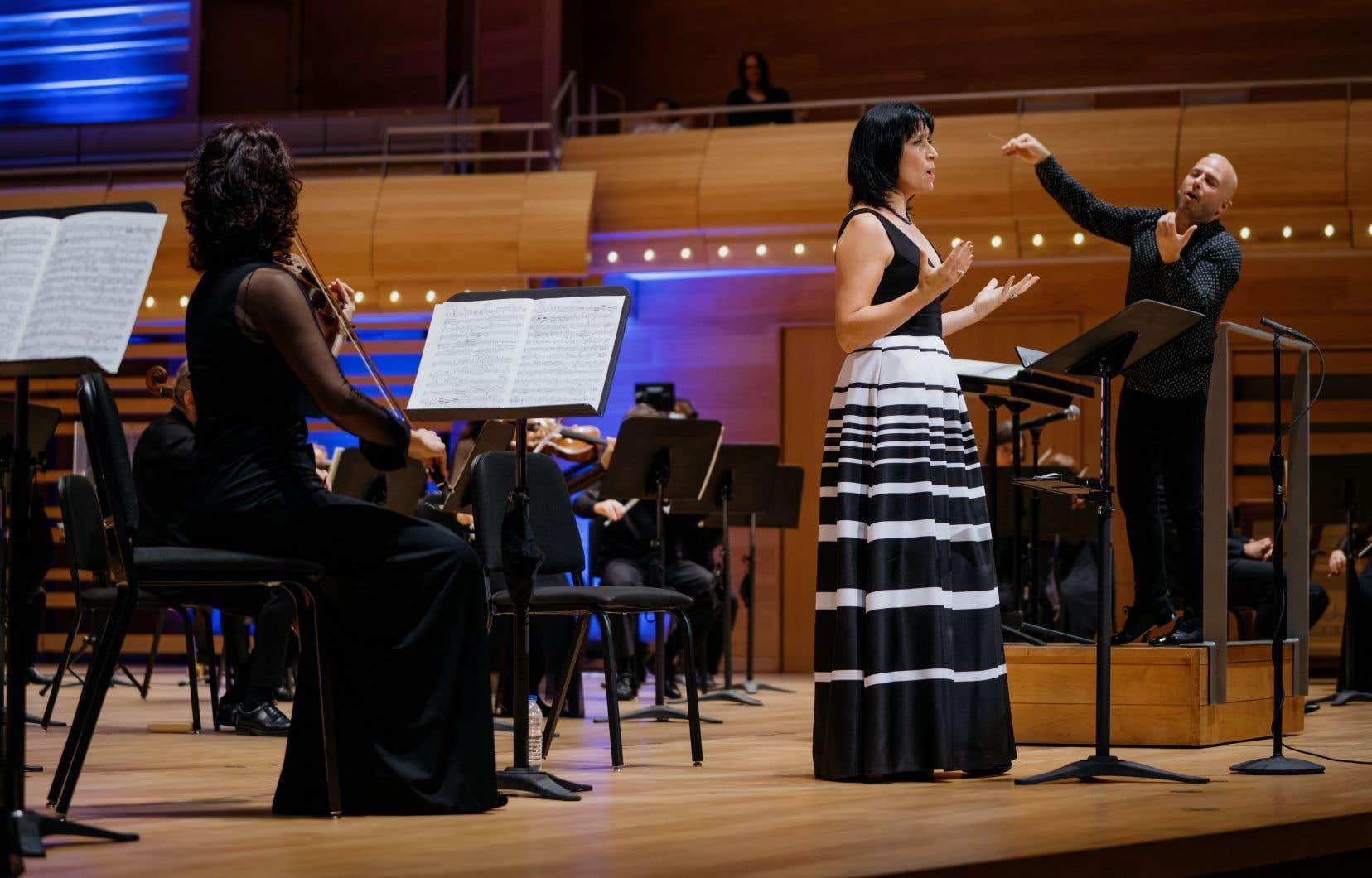 Michèle Losier a une fois de plus saisi les auditeurs avec une prestation nourrie et émue d'une grande plénitude vocale.