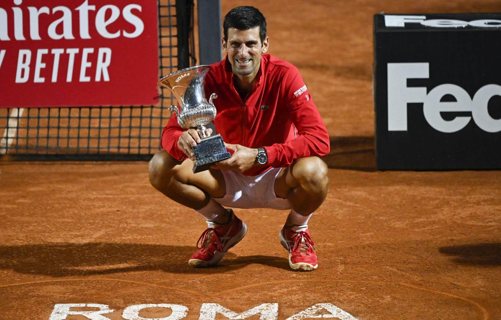 Djokovic réaffirme sa suprématie au Masters de Rome