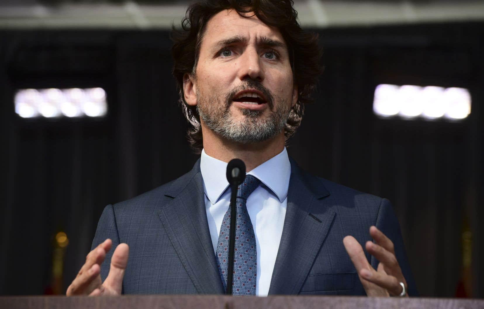 JustinTrudeau fera son apparition sur les ondes à 18h30, mercredi
