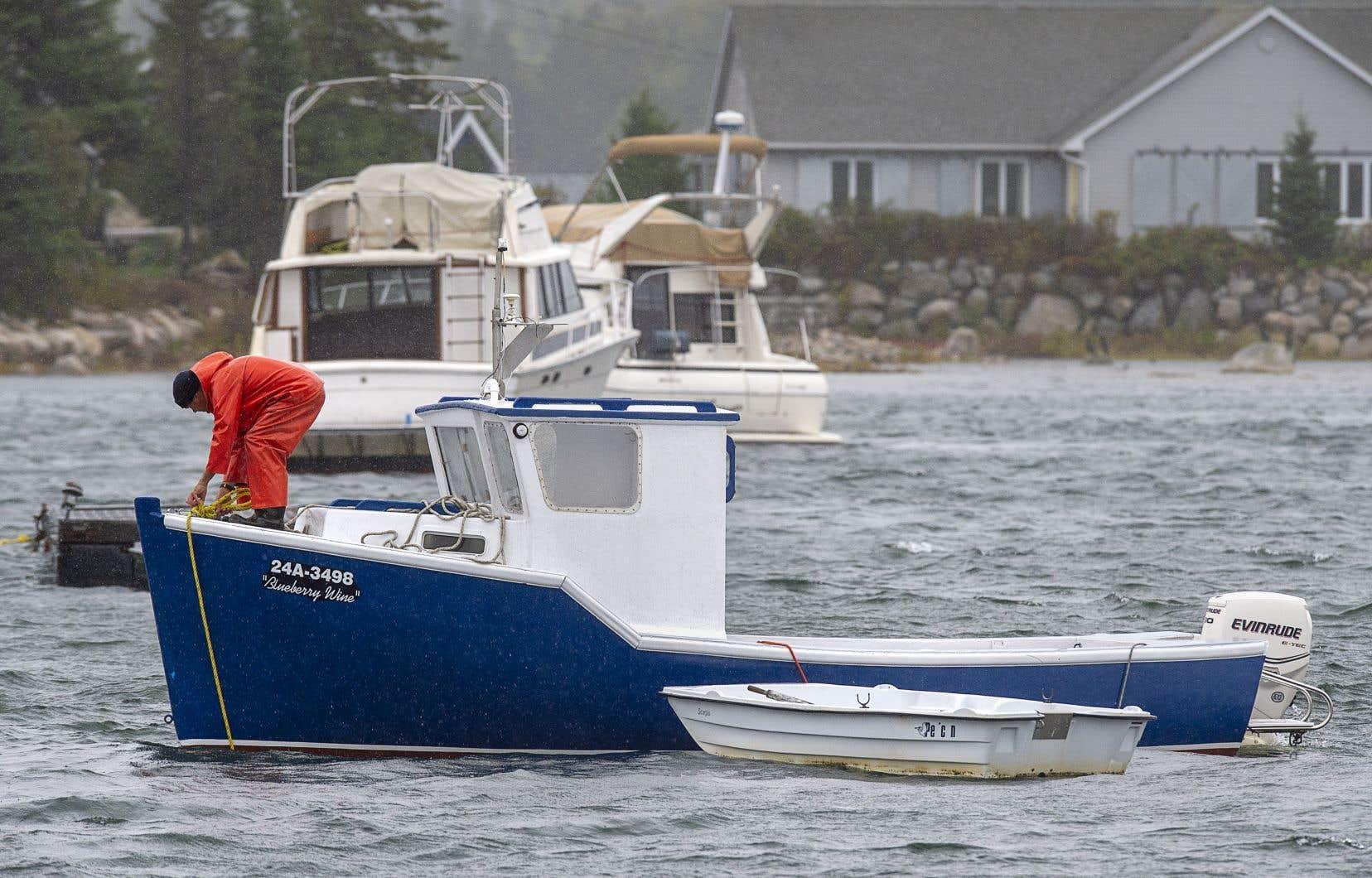 Auparavant un ouragan, <em>Teddy</em> a perdu de son intensité en eaux canadiennes.