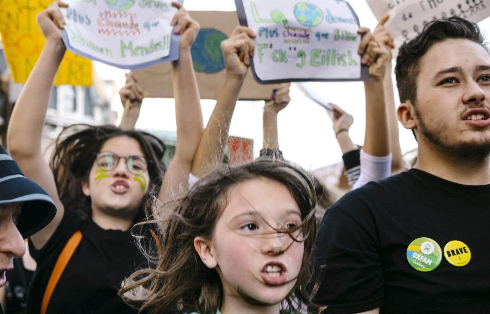 L'un des plus gros défis auxquels tu auras à faire face lorsque tu seras devenu adulte, c'est le réchauffement de la planète.