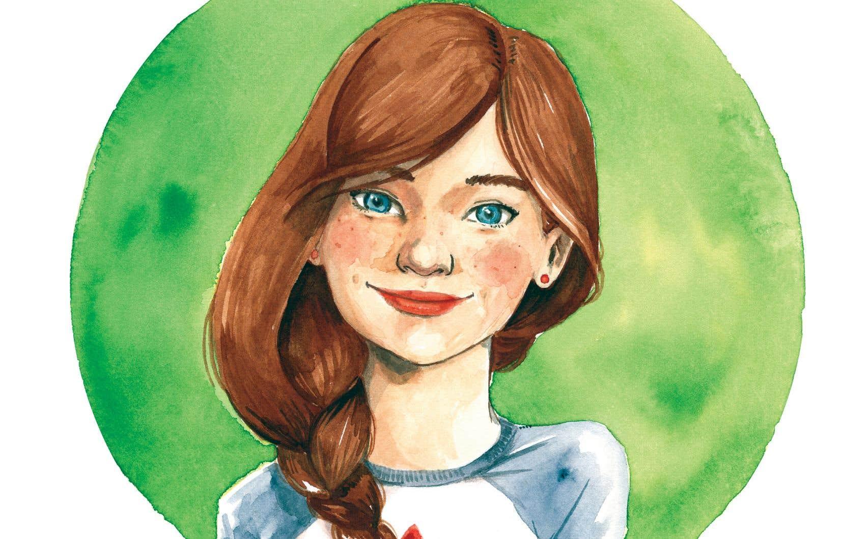 Sarah-Lou, l'héroïne de la série «Sarah-Lou, détective (très) privée», d'Audrée Archambault (La Bagnole).