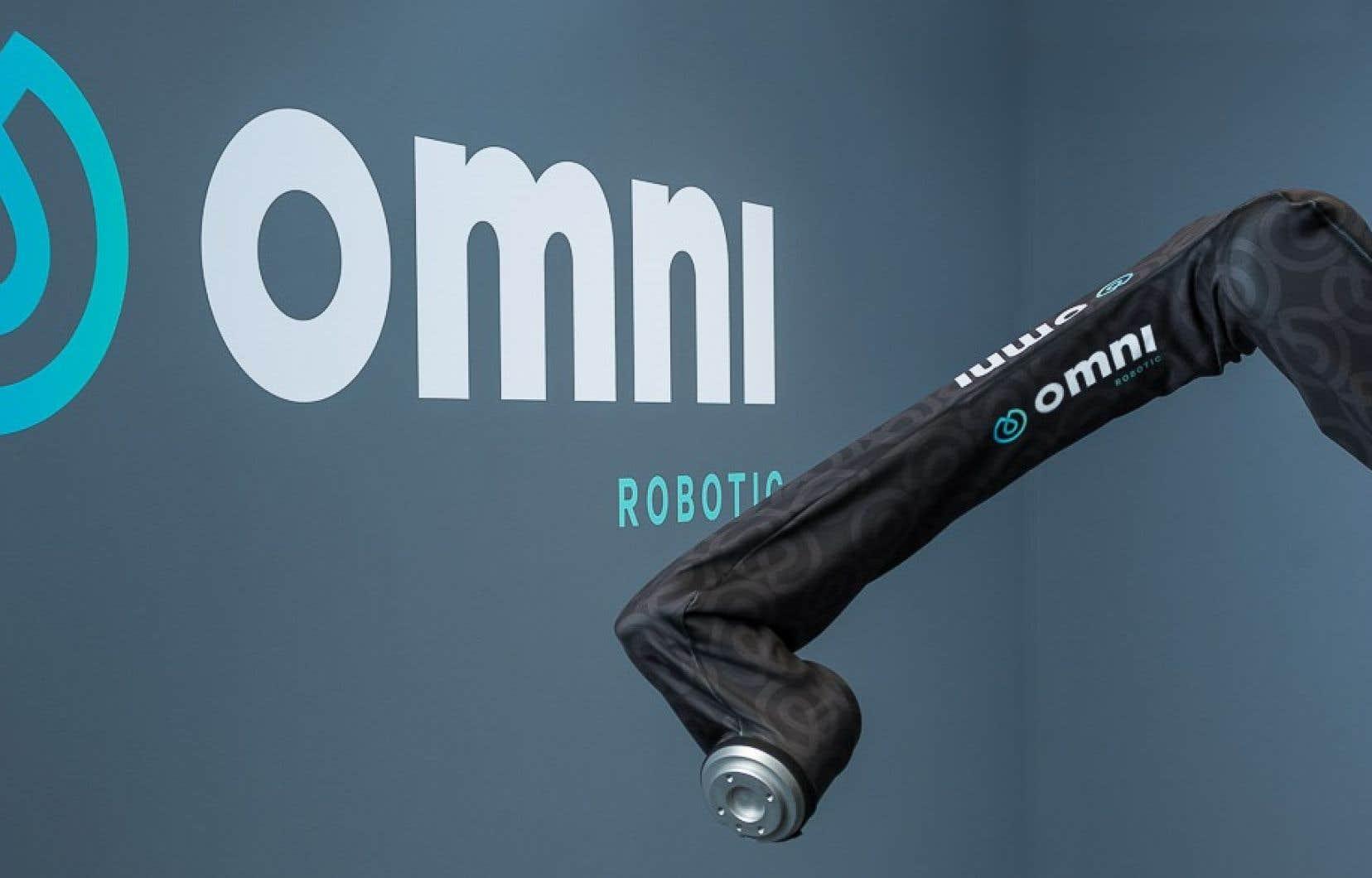 Si Omnirobotic fournit les yeux et le cerveau du robot, le bras, lui, provient d'un autre fabricant. Le tout est assemblé par un intégrateur pour le client final.