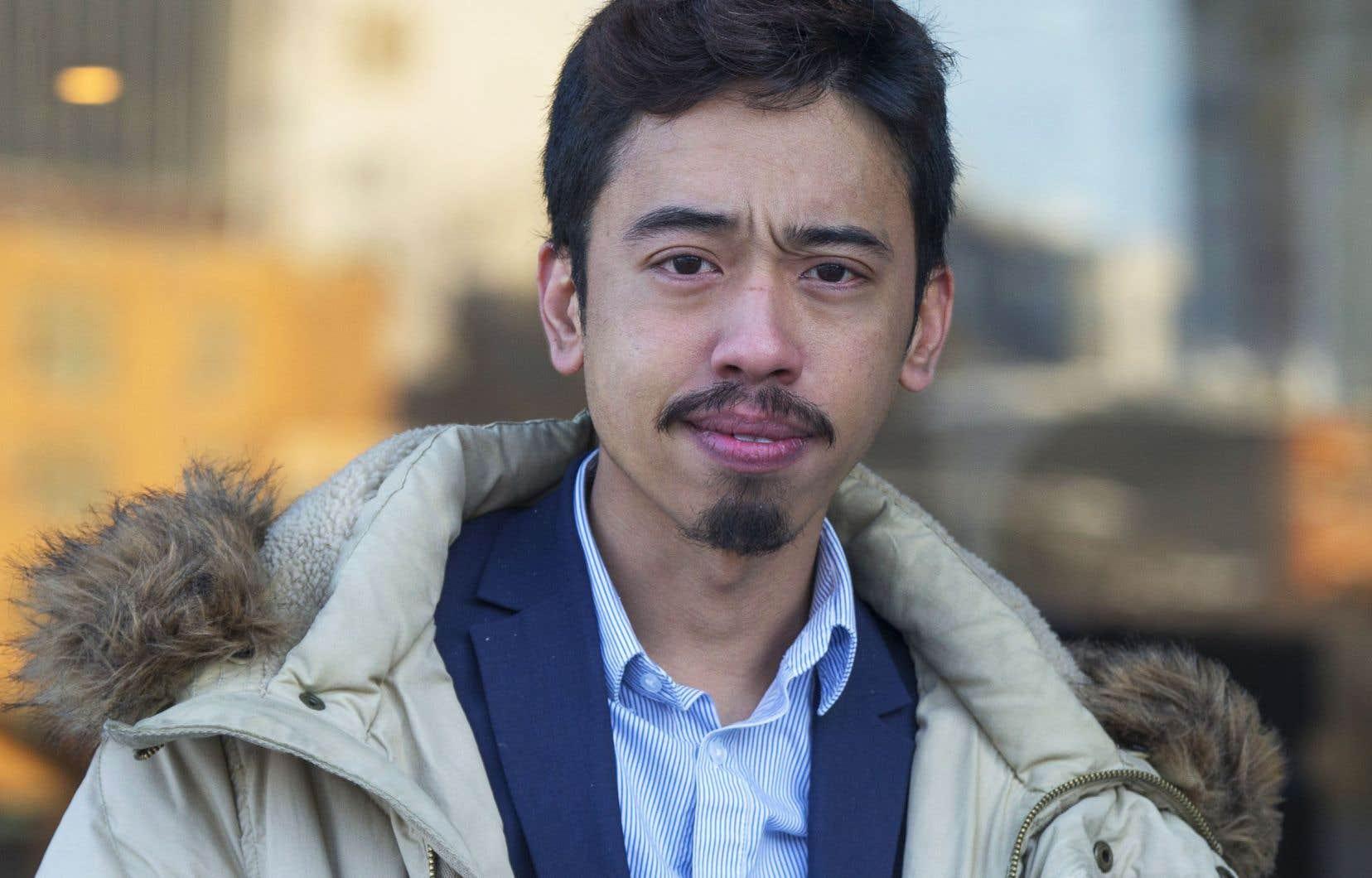 Le président de la FPJQ, Michaël Nguyen