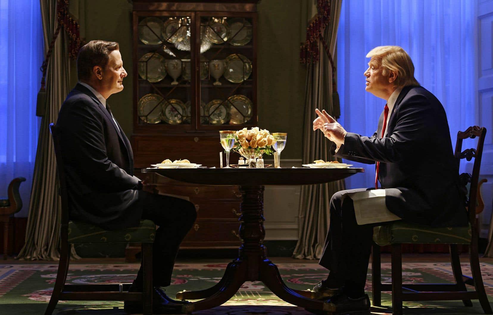 Jeff Daniels et Brendan Gleeson dans «The Comey Rule»