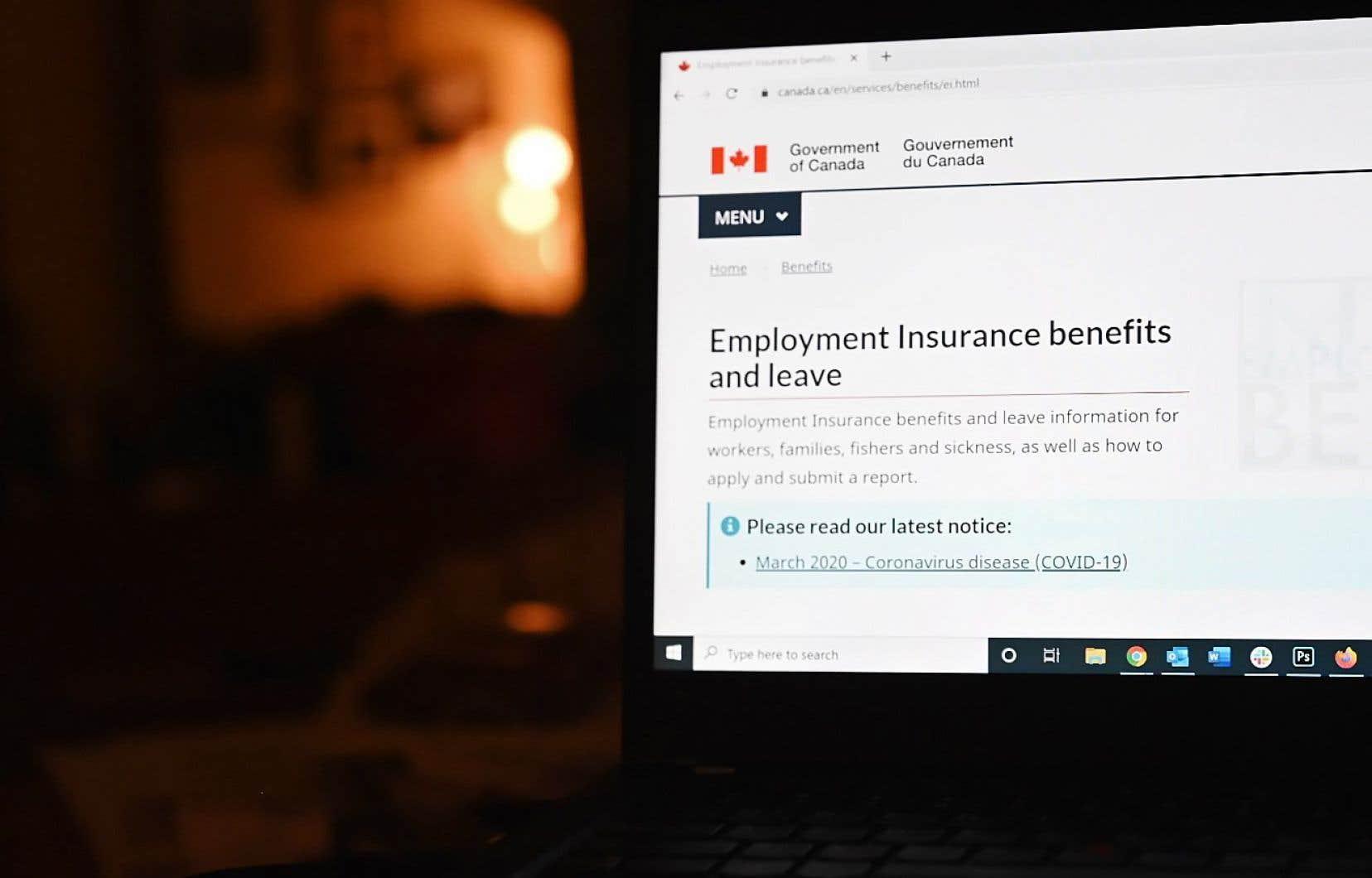 Il y a un mois environ, le premier ministre Justin Trudeau annonçait l'assouplissement aux règles de l'assurance-emploi et trois nouvelles prestations pour ceux et celles qui ne pourront pas compter sur l'assurance-emploi modifiée.
