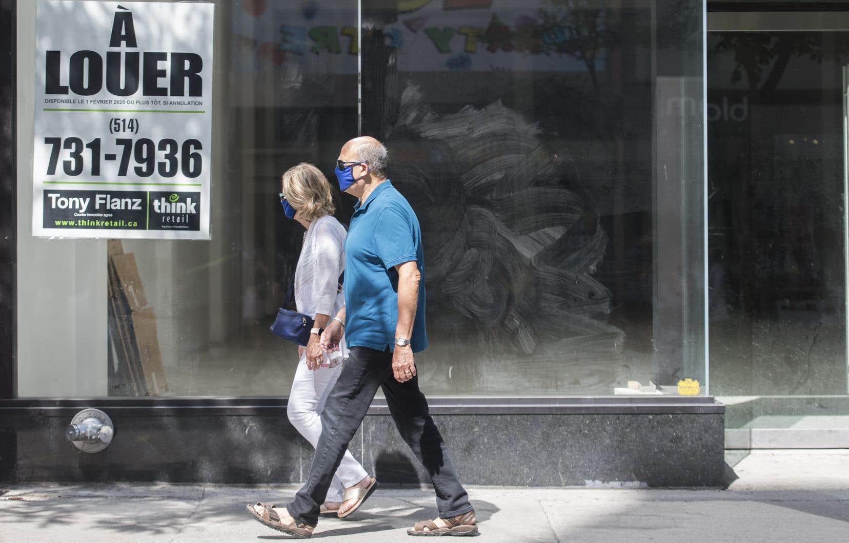 Le nombre d'entreprises qui ont fermé leurs portes entre mai et juin a toutefois augmenté de 2% au Québec, de 3,9% à Montréal.