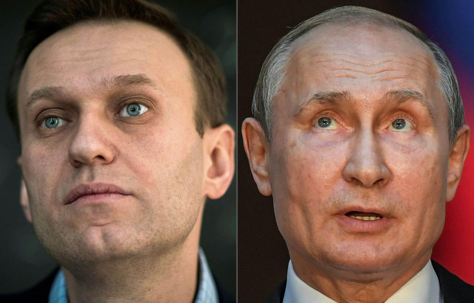 «J'affirme que Poutine est derrière cet acte, je ne vois pas d'autres explications», a affirmé Alexeï Navalny à l'hebdomadaire allemandDer Spiegel.