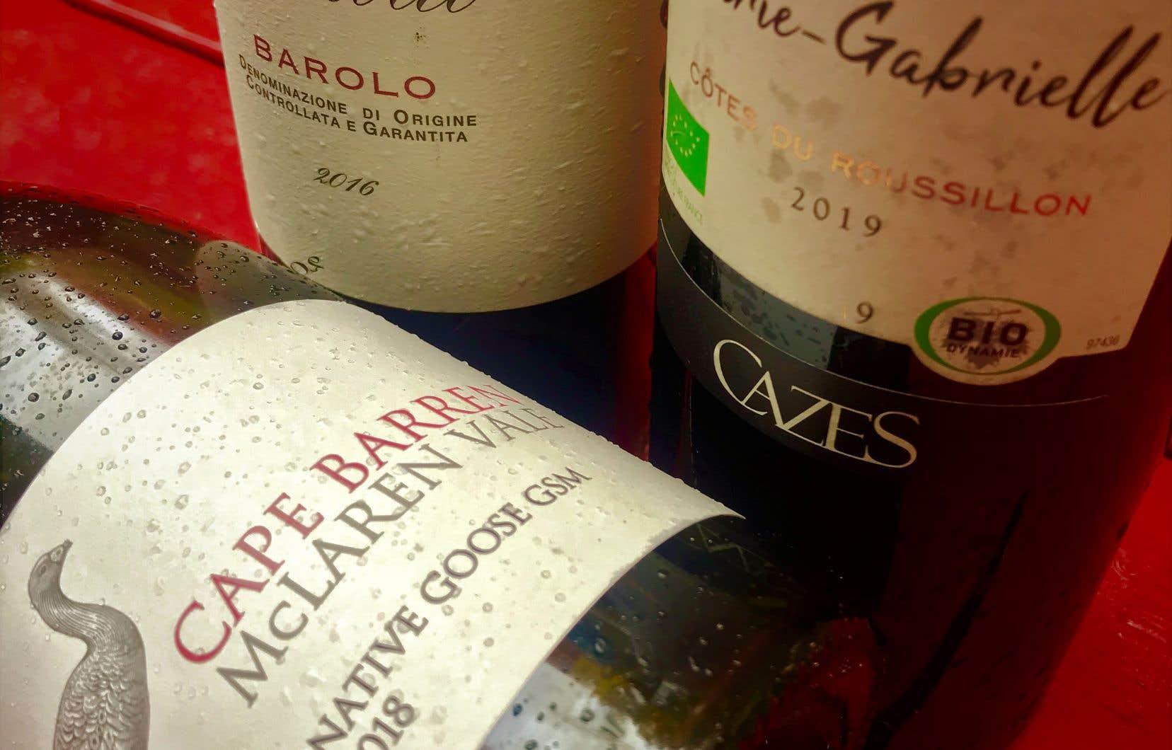 En rafale, quelques vins dégustés, car s'il est une option à ne jamais négliger, c'est bien celle de vivre ici et maintenant!